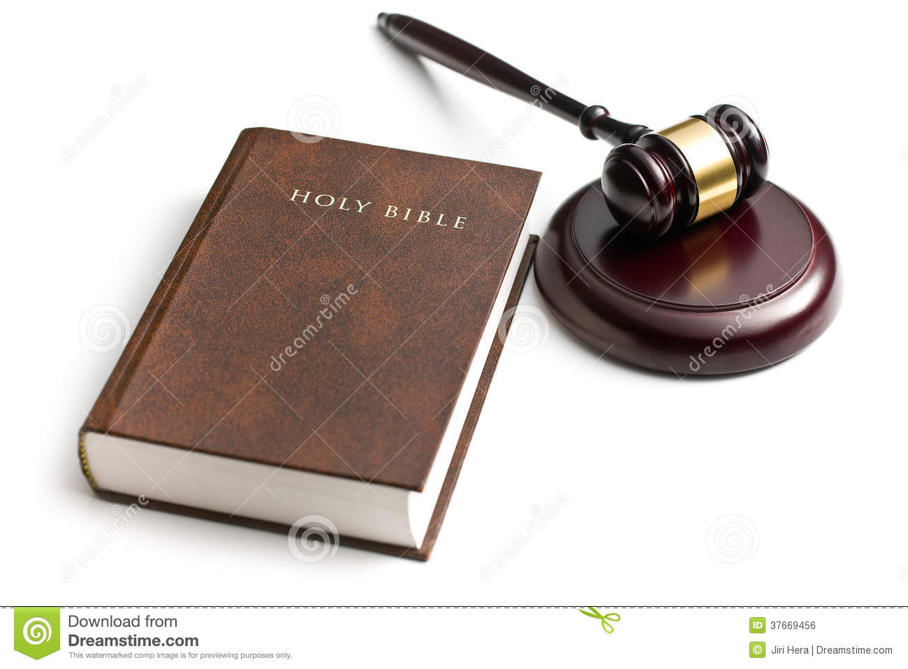 Judge Gavel With Holy Bible Royalty Free Stock Image - Image: 37669456