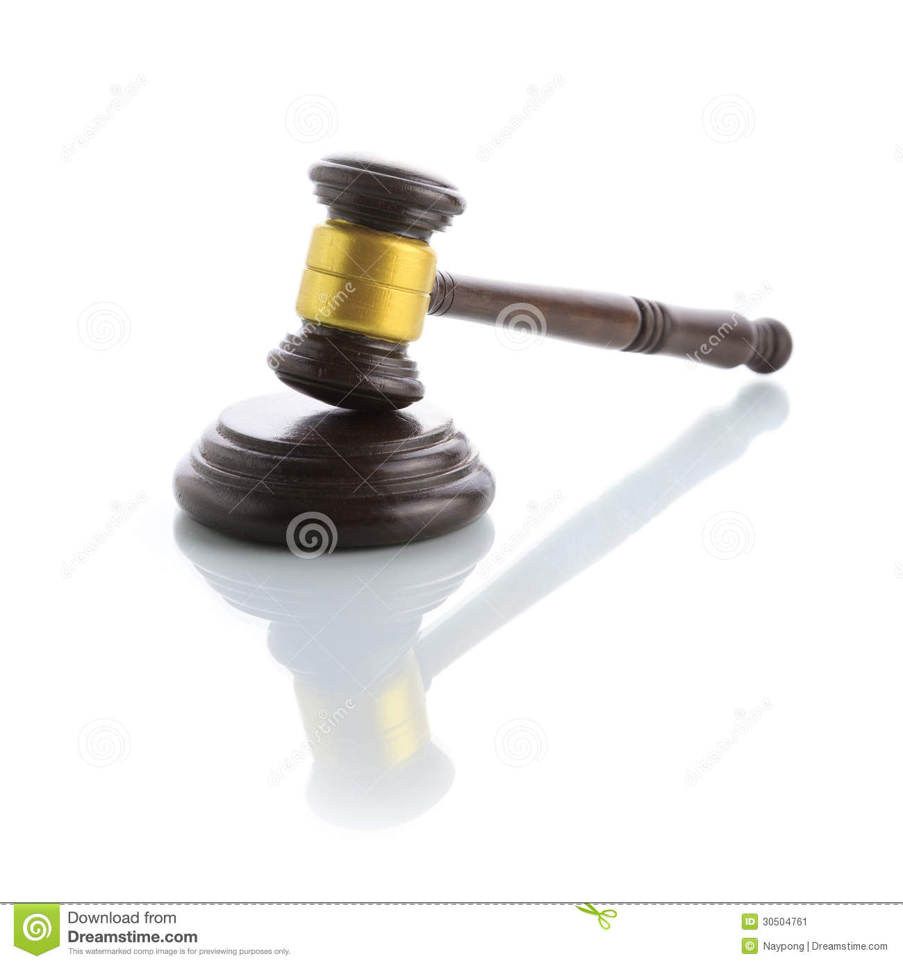 Judge Gavel Stock Image - Image: 30504761