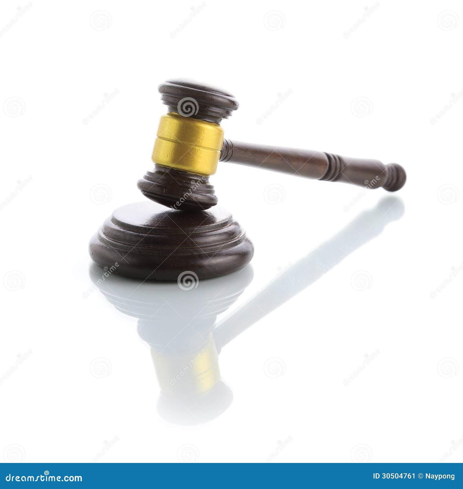 Judge Gavel Stock Image - Image: 30504761