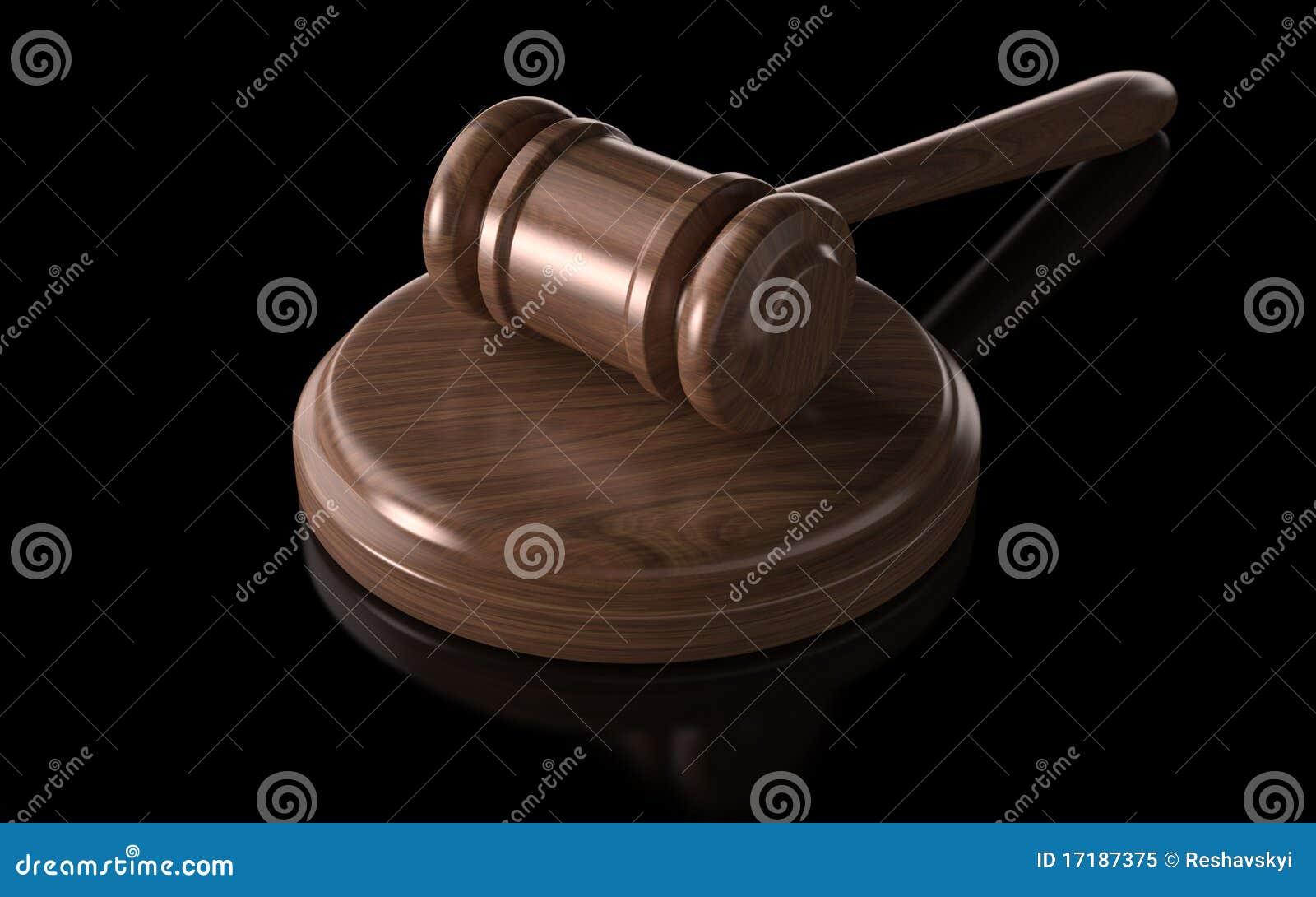 Judge's Gavel Royalty Free Stock Photo - Image: 17187375