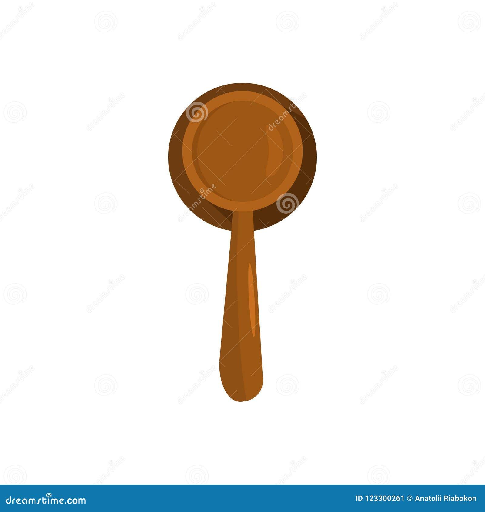 Judgement Icon Flat Style Stock Illustration Illustration Of