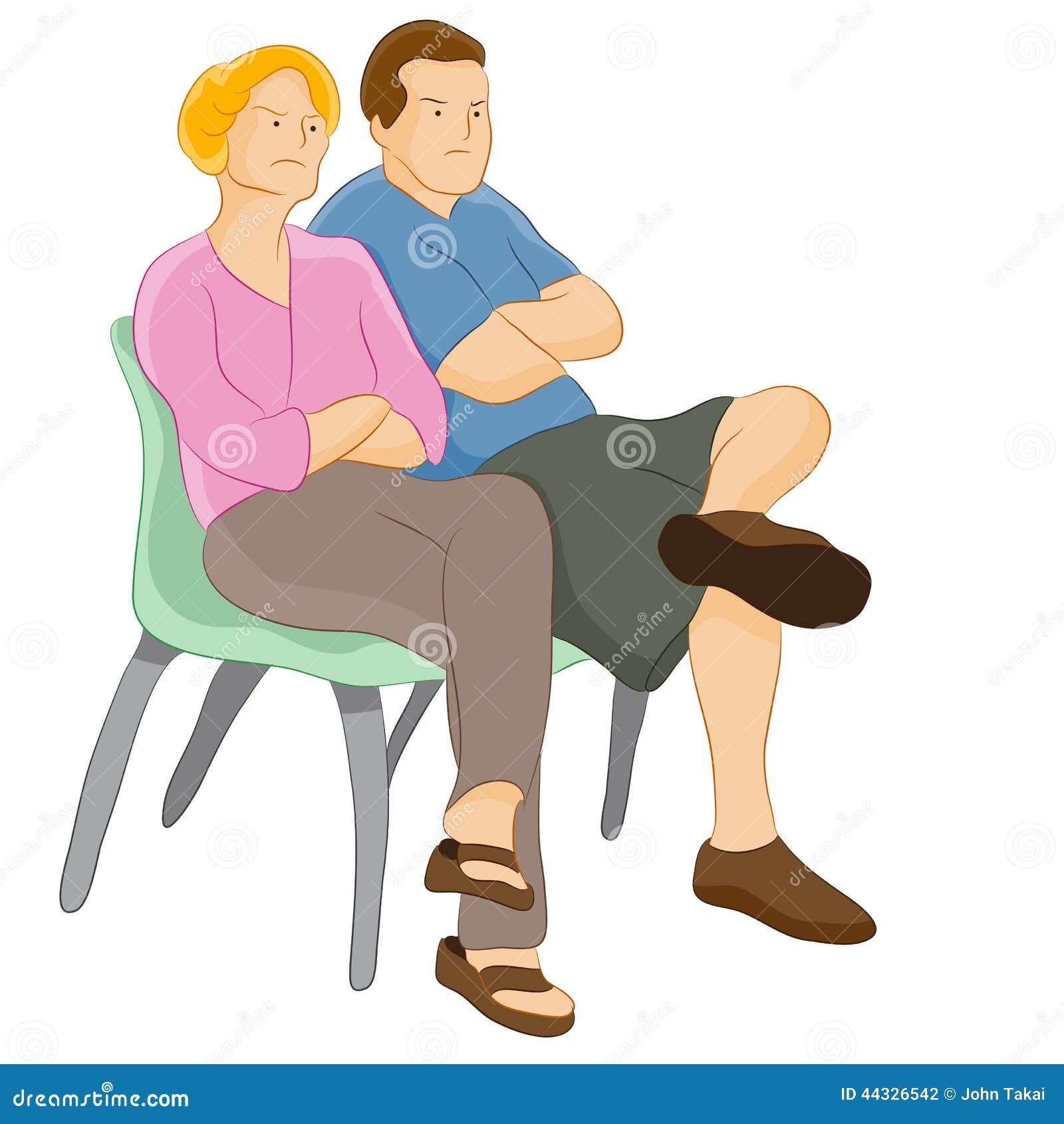 Judgemental Parents stock vector. Illustration of meeting ...