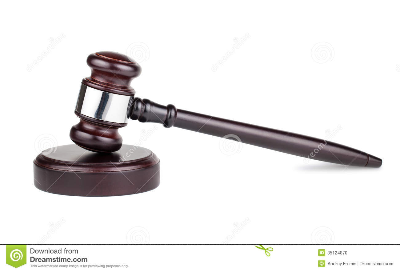 Justice scale stock image image 605751 - Judges Gavel Clipart