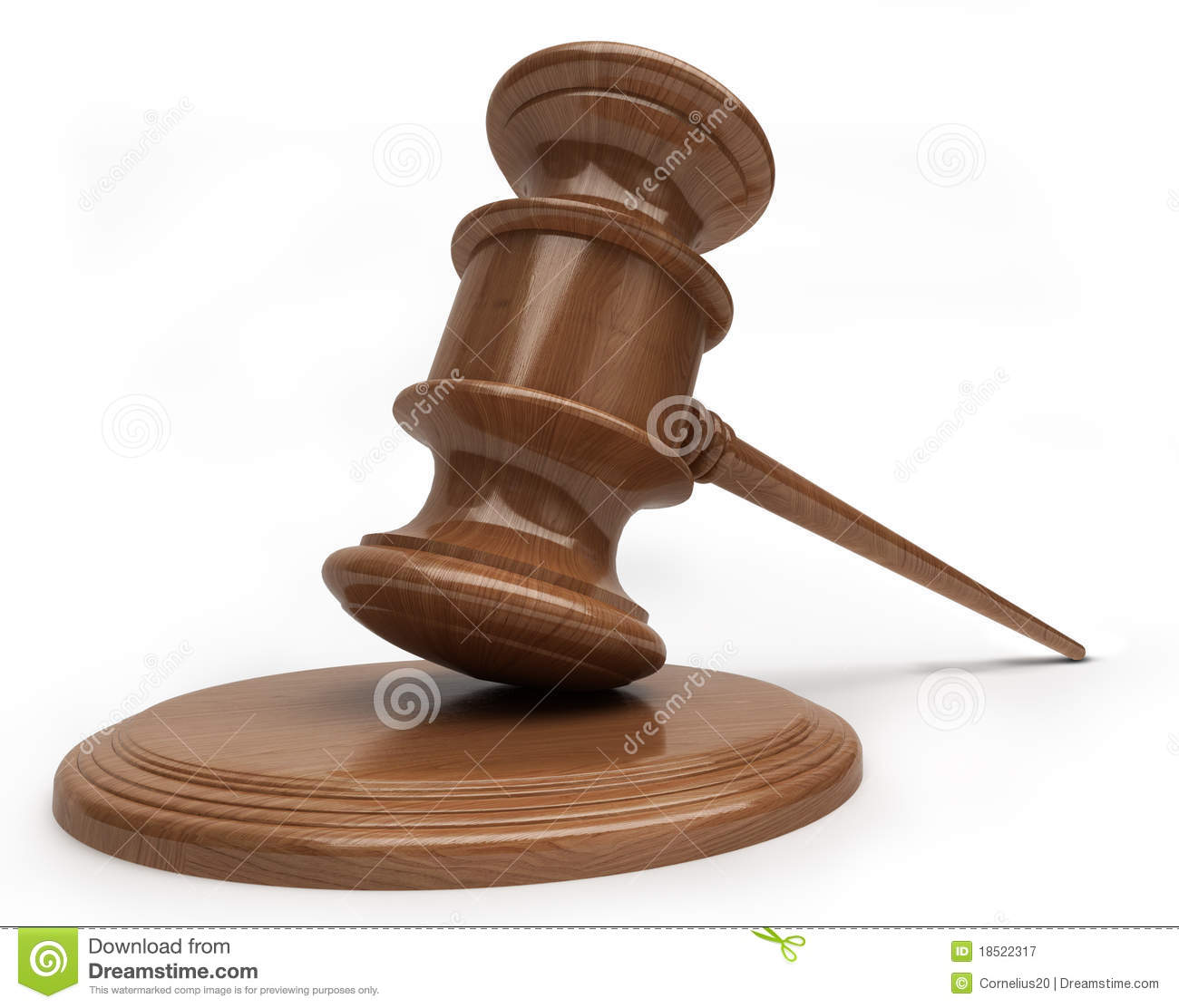Judges Hammer Royalty Free Stock Photography - Image: 18522317