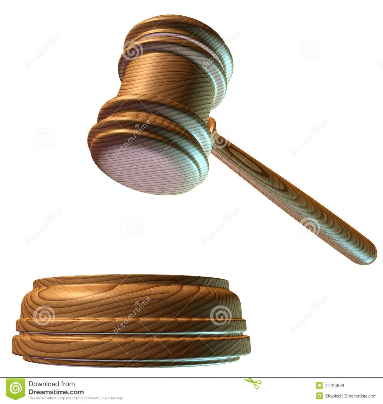Judgment Mallet Royalty Free Stock Photos