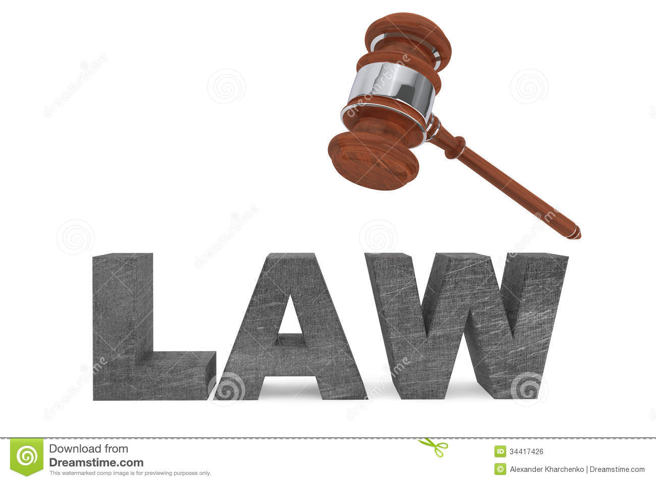 Judicial Gavel And Law Sign Royalty Free Stock Image - Image: 34417426