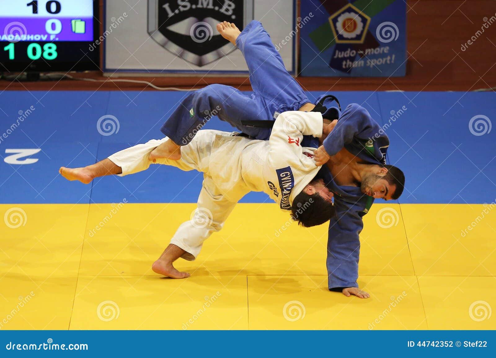Judo action