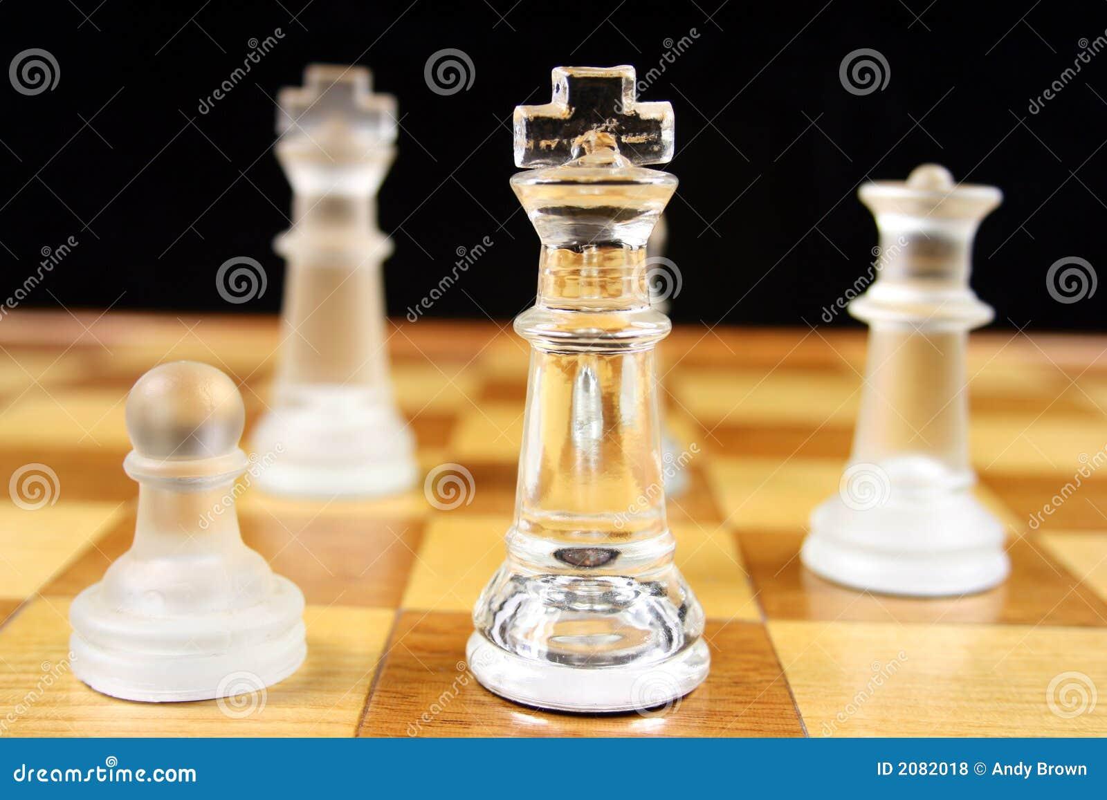 Juego de ajedrez - foco en el rey 2