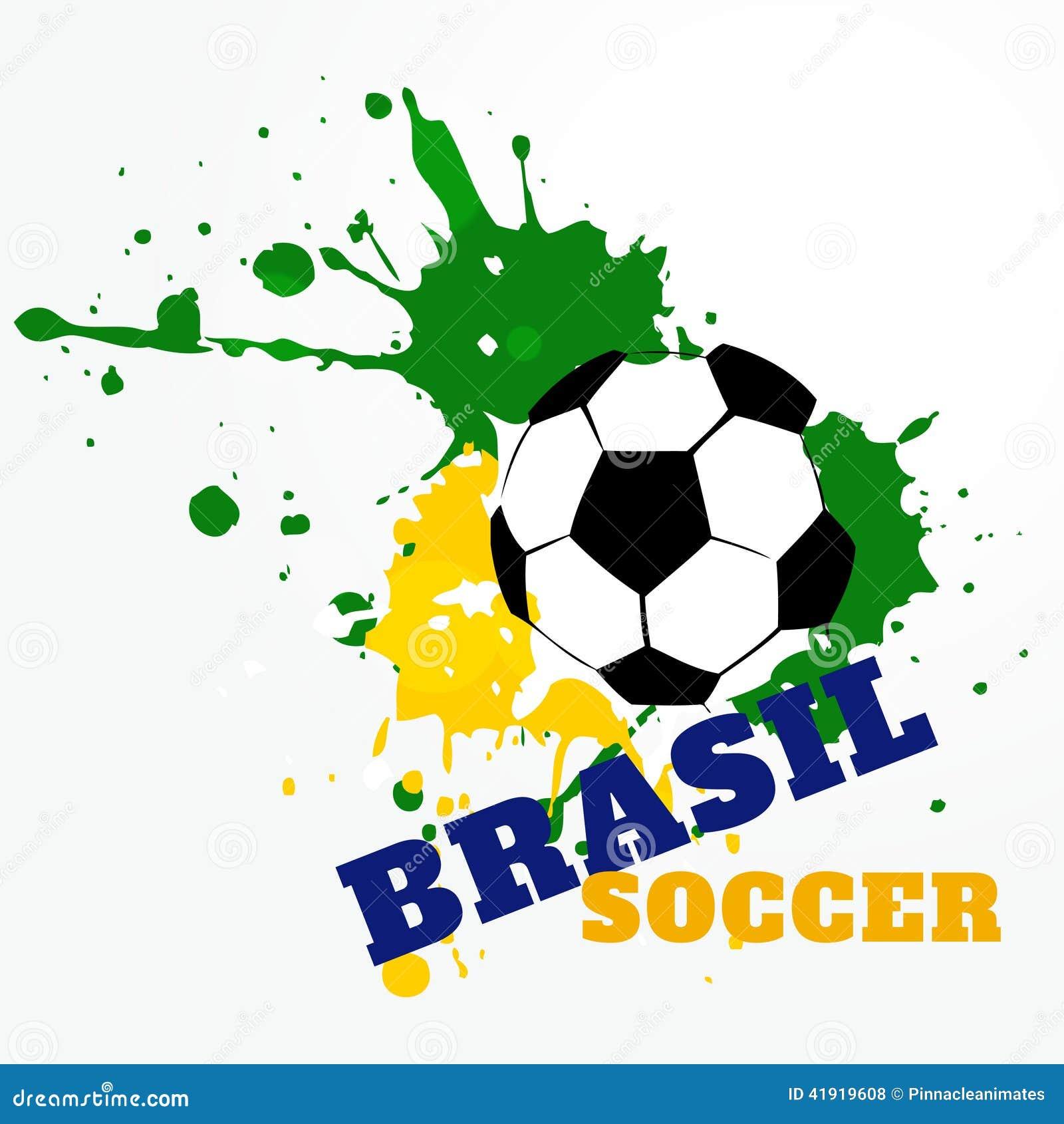 Juego de fútbol del Brasil