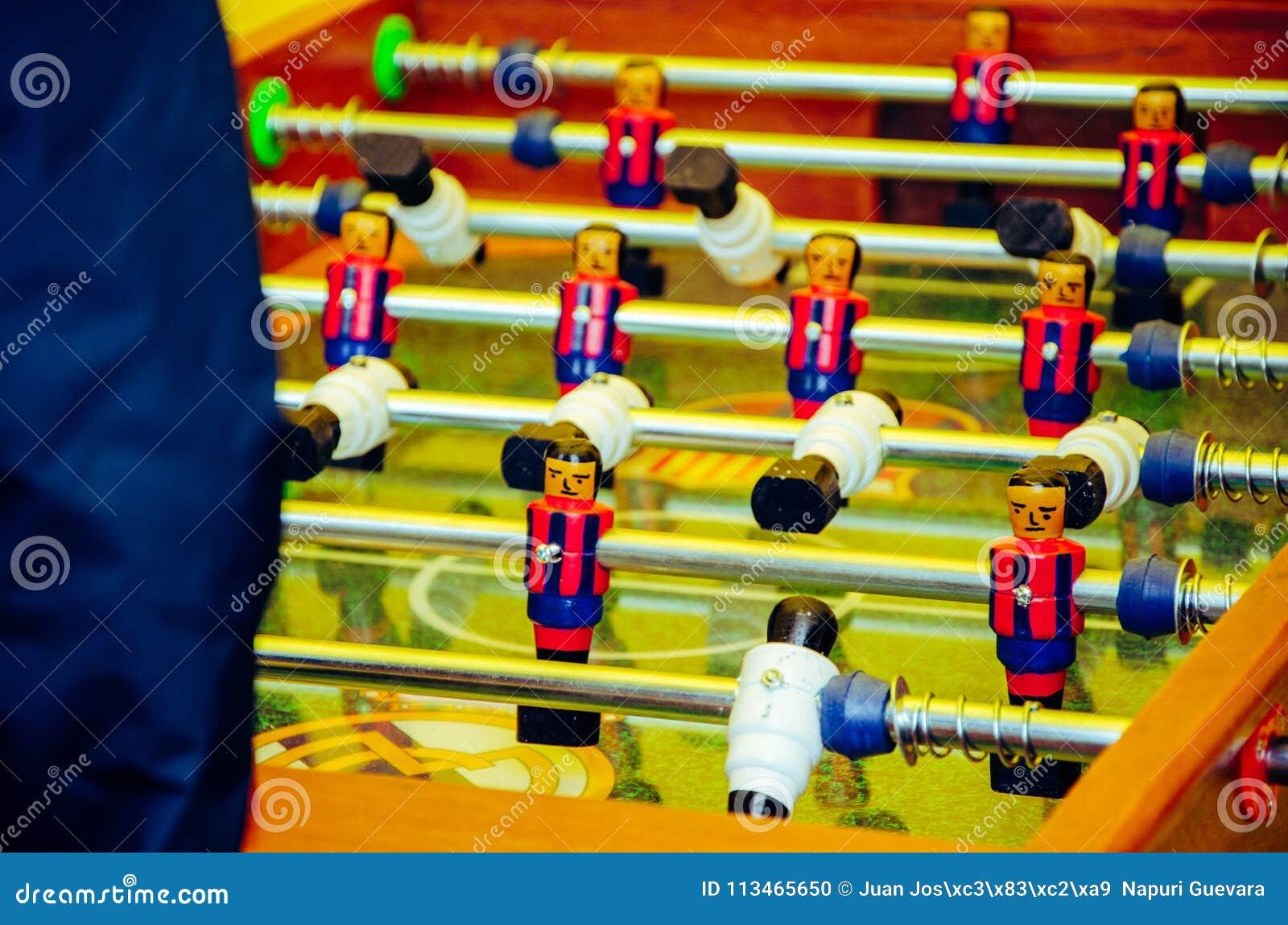 Juego de fútbol del vector