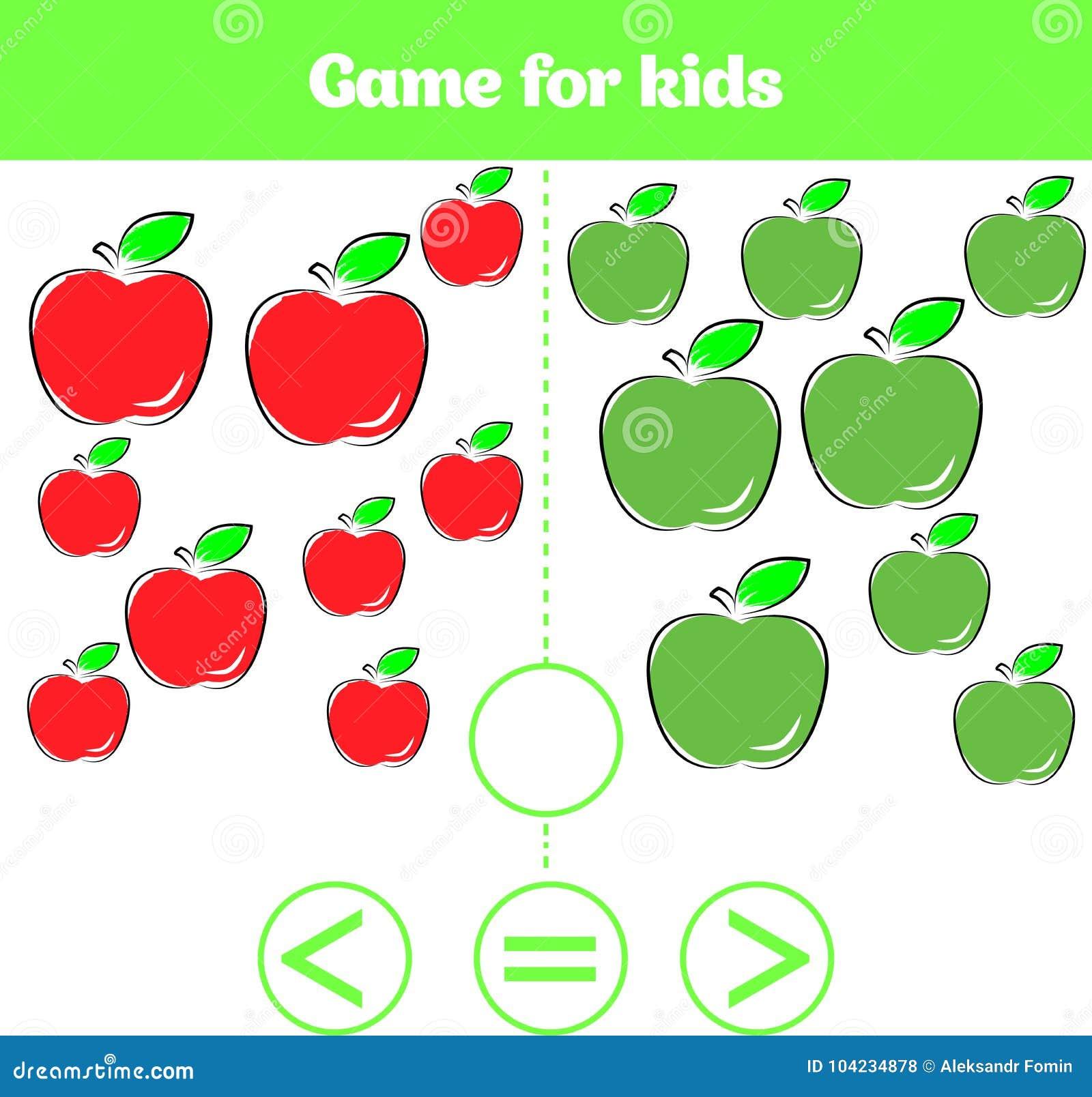 Juego De La Logica De La Educacion Para Los Ninos Preescolares Elija