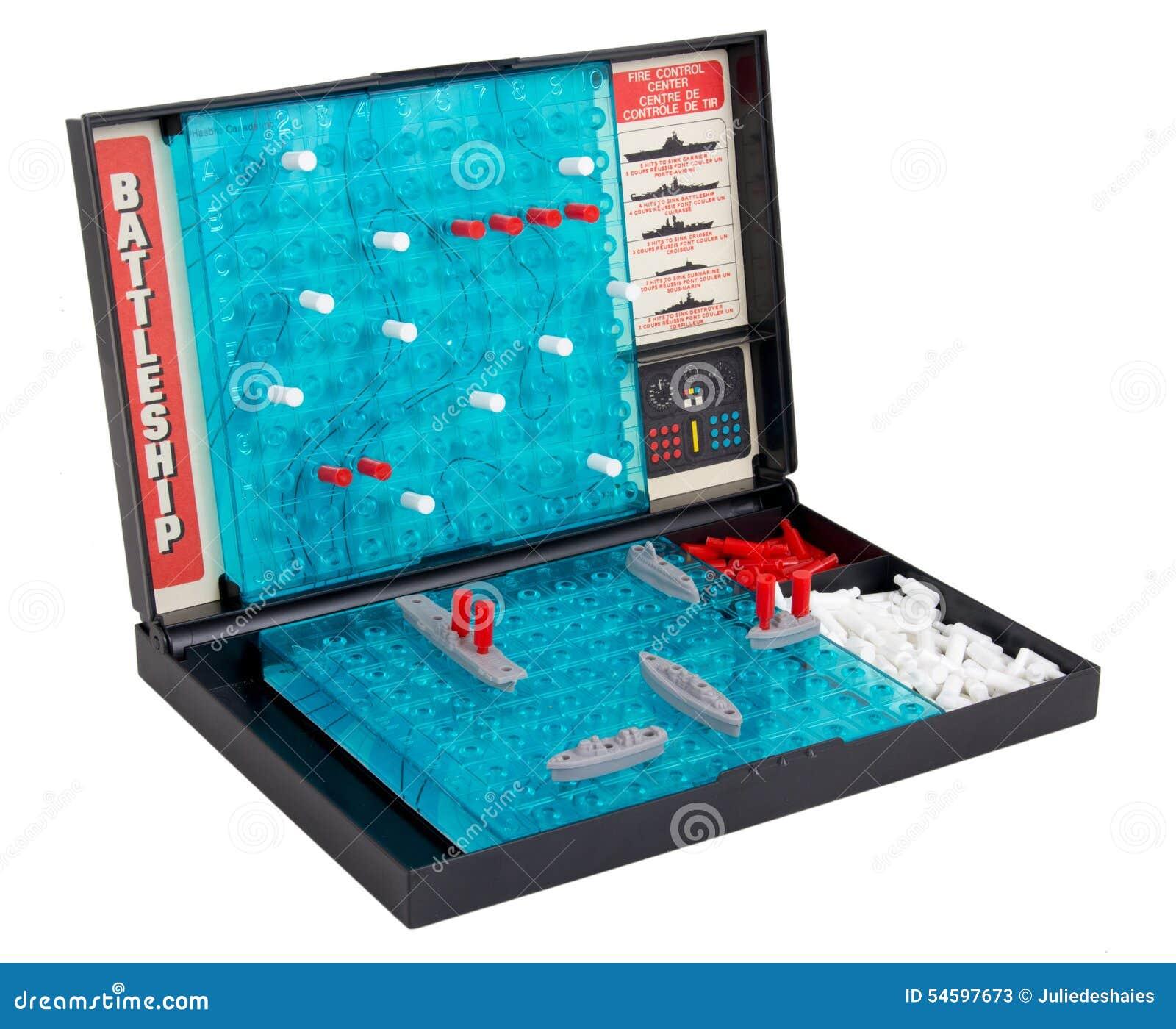 juego de mesa de la batalla naval del acorazado sobre