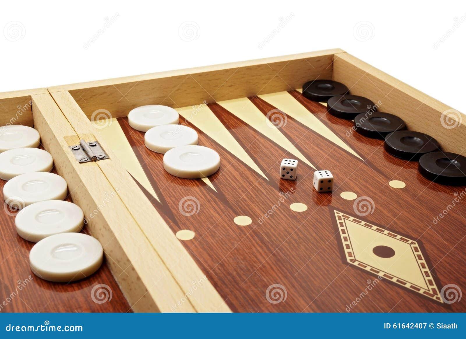 Juego De Mesa Del Backgammon Imagen De Archivo Imagen De Retro