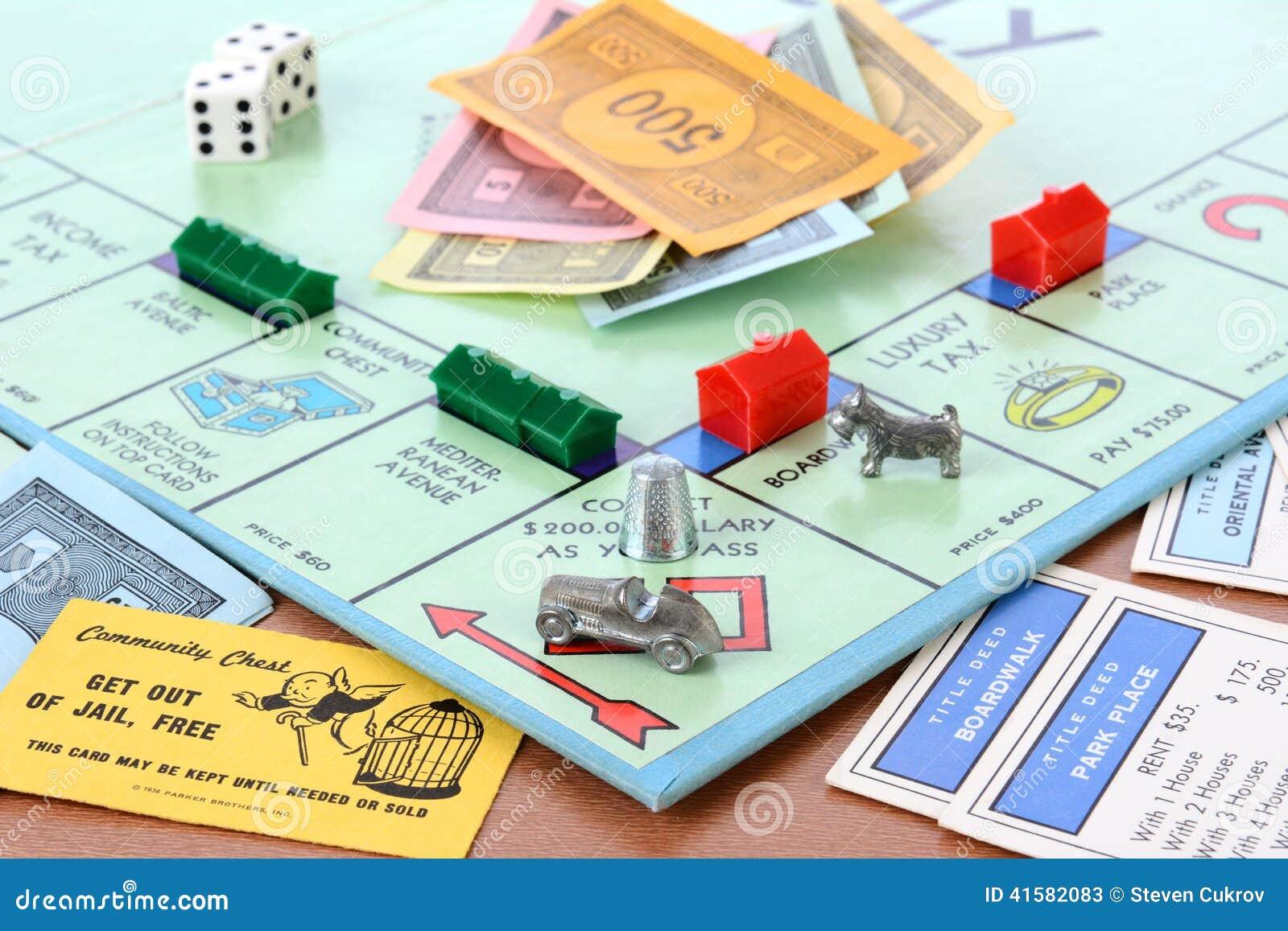 Juego de mesa del monopolio