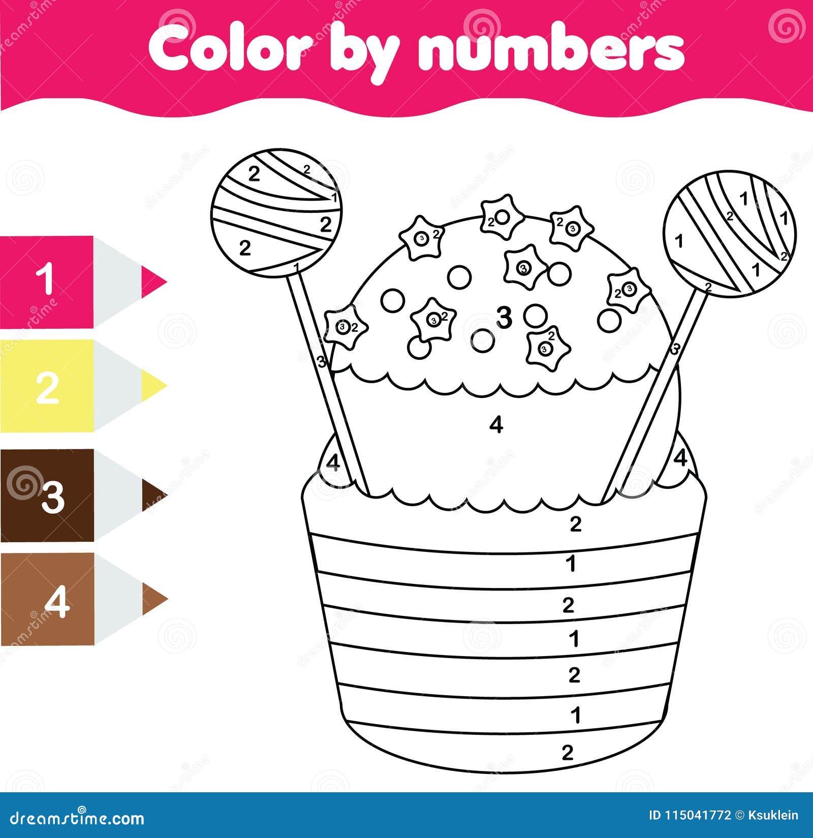 Único Color De Acción De Gracias Gratis Por Número De Páginas ...