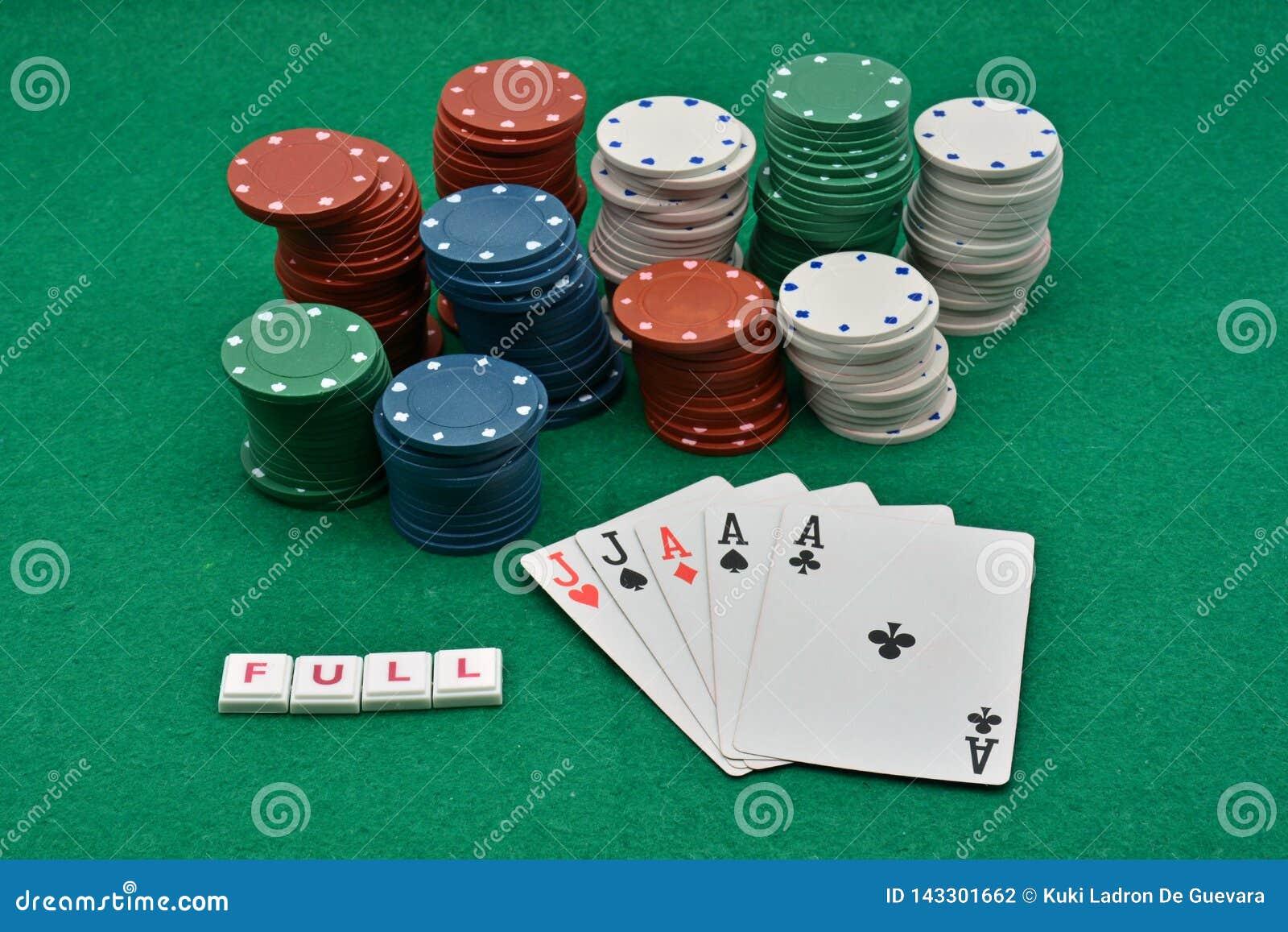 Juegos del póker que ganan, por completo