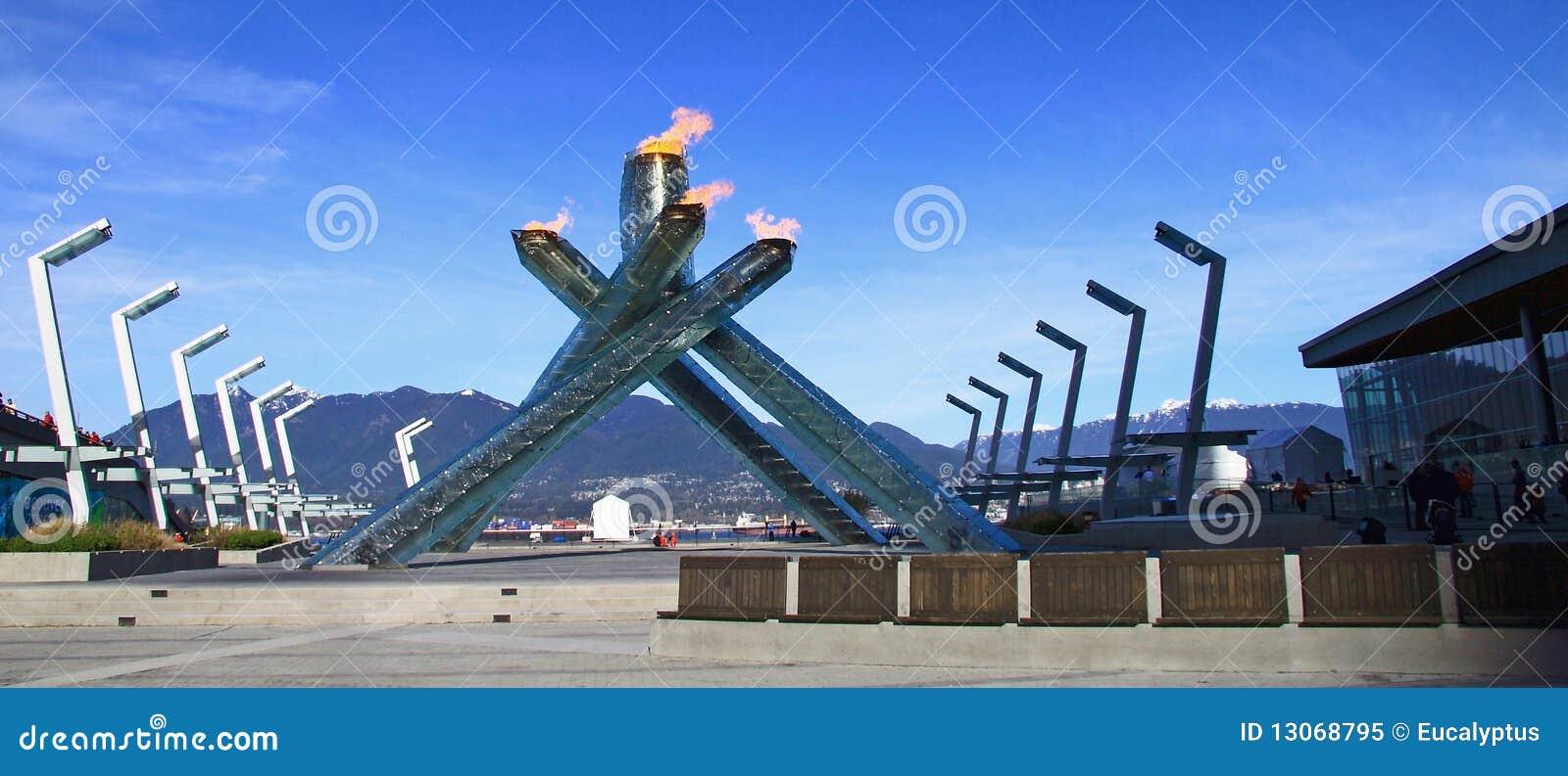 Juegos Olimpicos De Invierno Vancouver 2010 Imagen Editorial