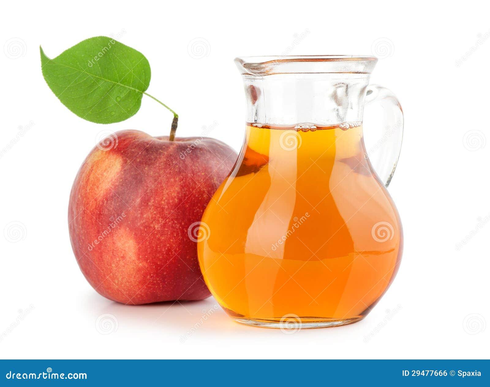 Jug Of Apple Juice Royalty Free Stock Image - Image: 29477666