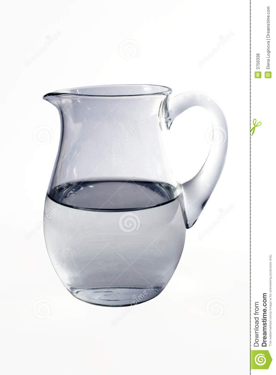 Jug With Water Royalty Free Stock Photos - Image: 3756338