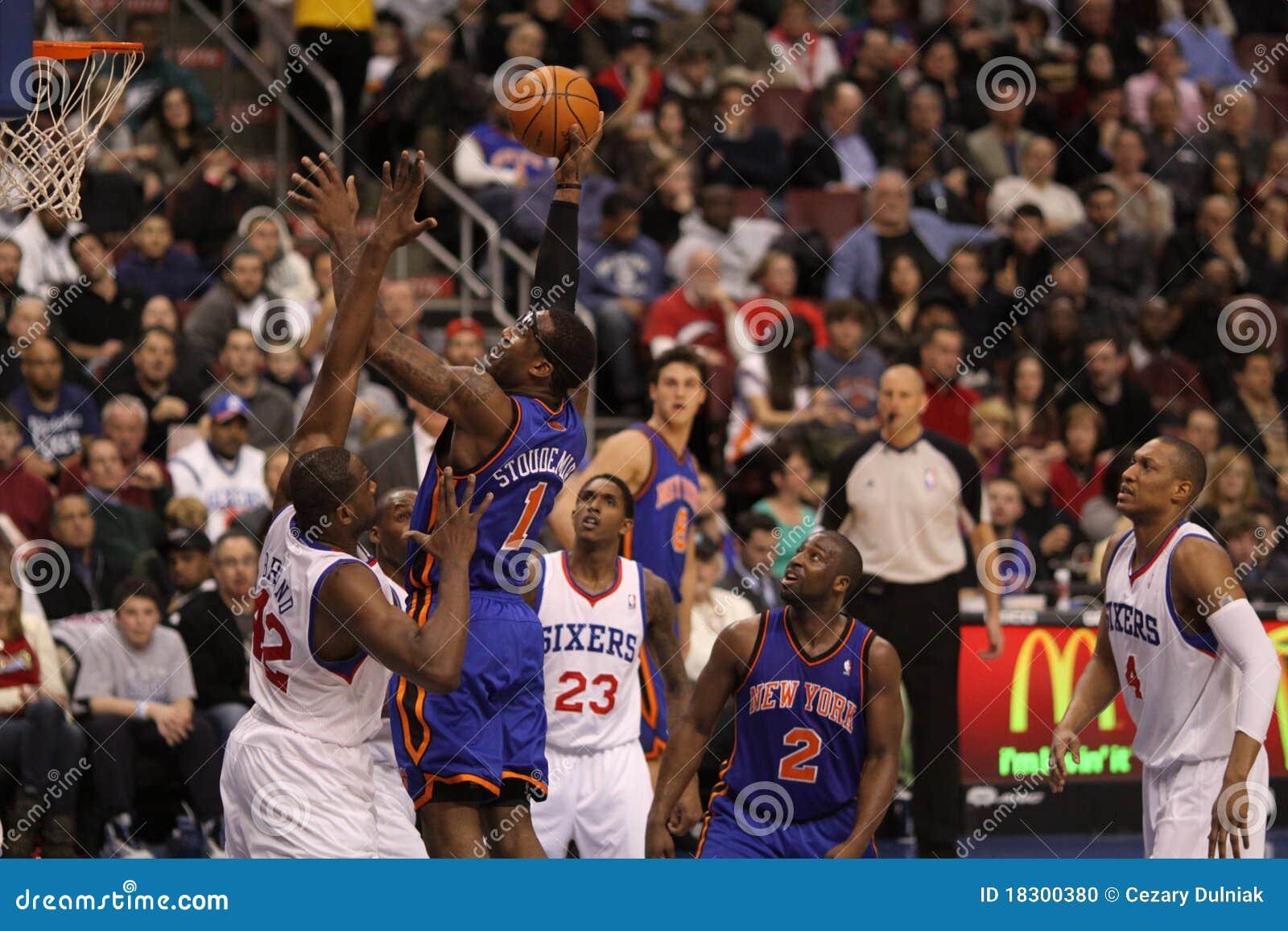 Jugador Amar e Stoudemire de NBA