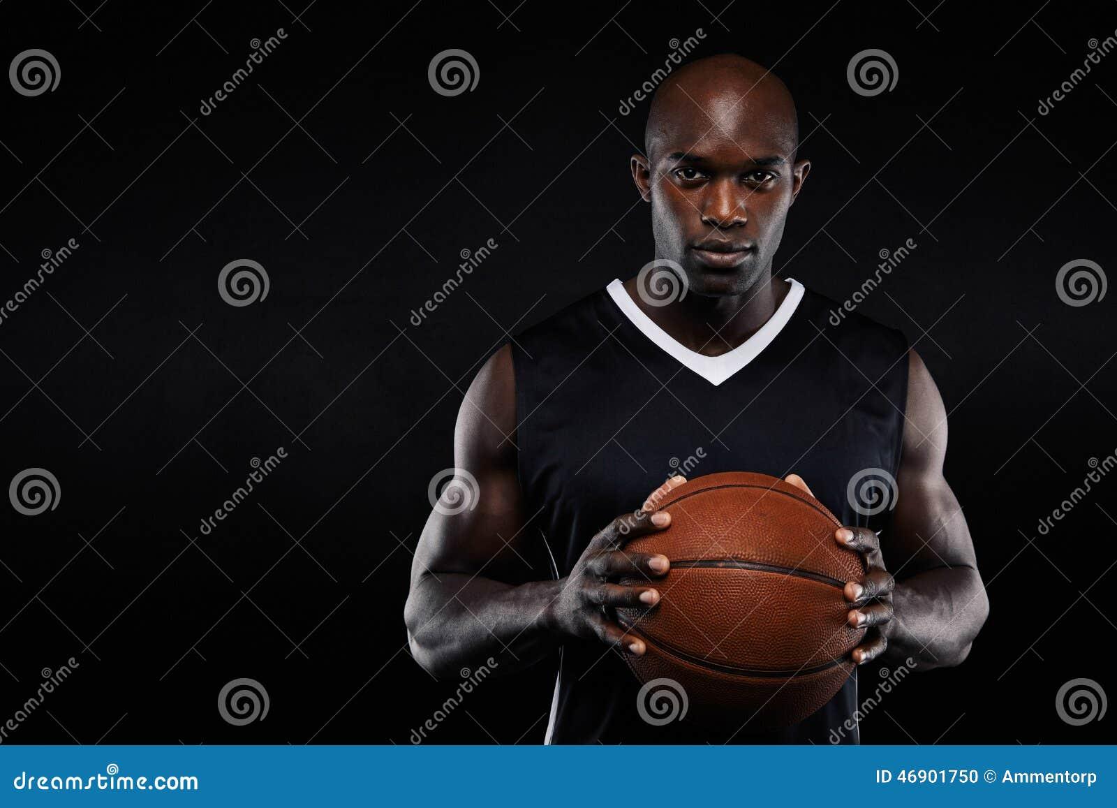 Jugador de básquet africano profesional