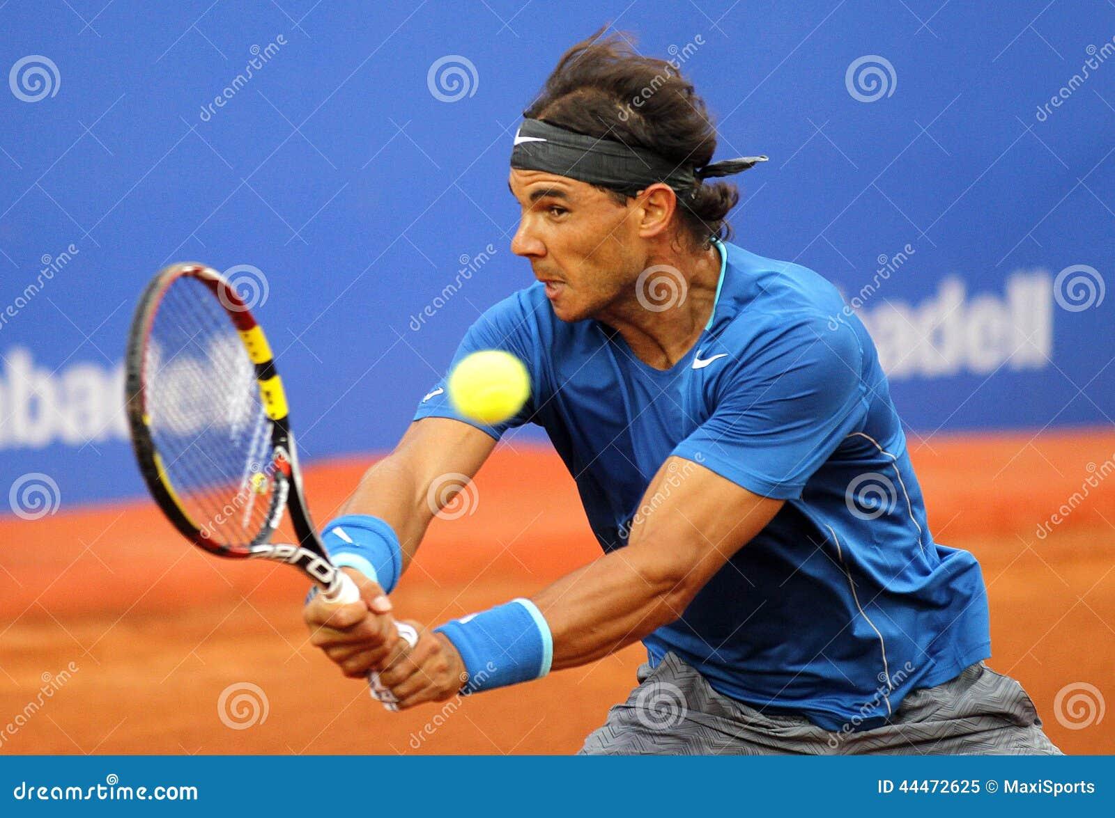 Jugador de tenis español Rafa Nadal