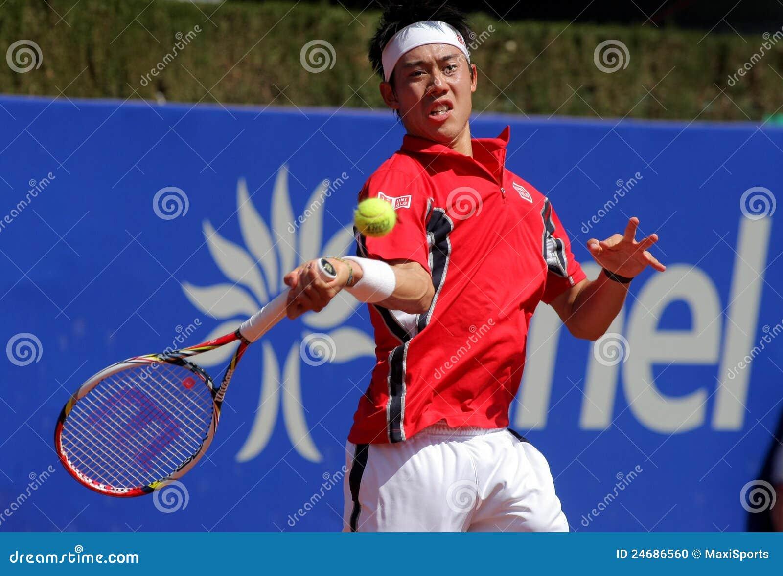 Jugador de tenis japonés Kei Nishikori