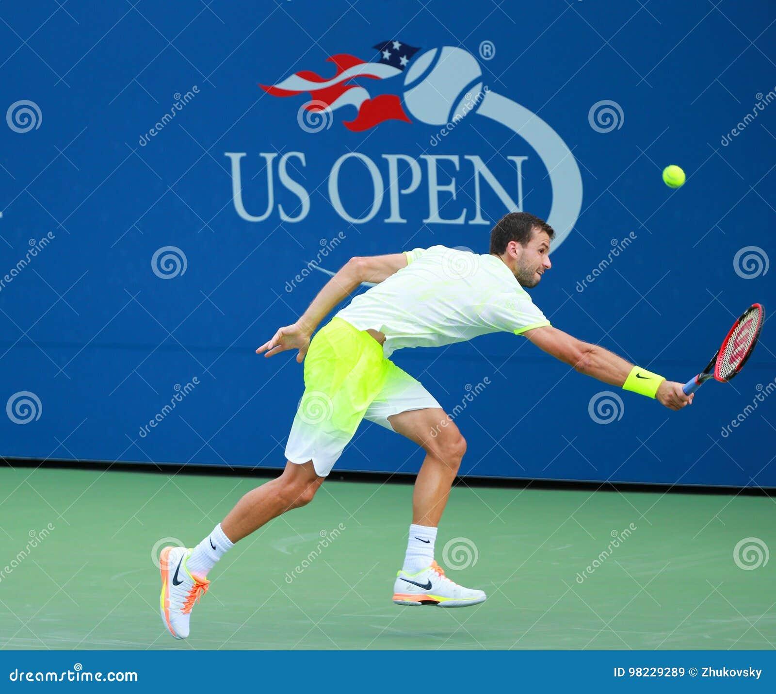 Jugador De Tenis Profesional Grigor Dimitrov De Bulgaria En