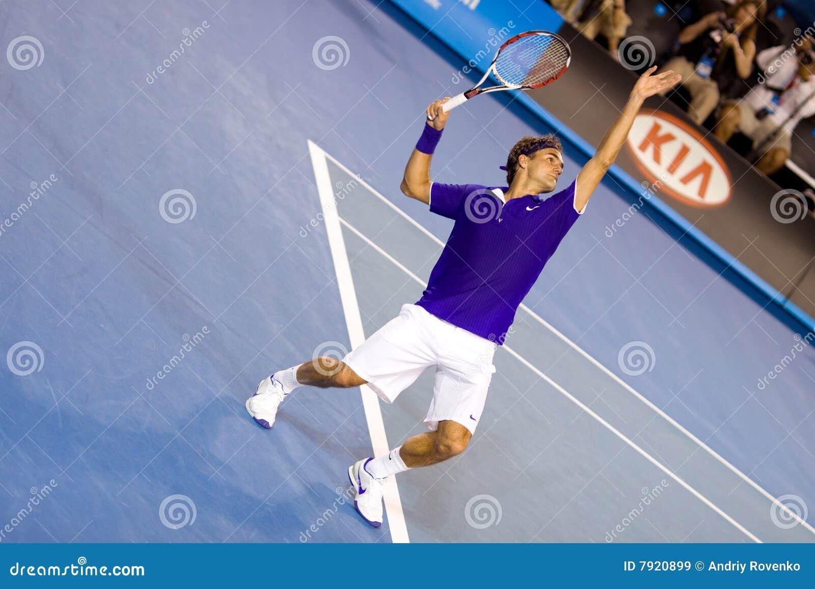 Jugador de tenis Roger Federer