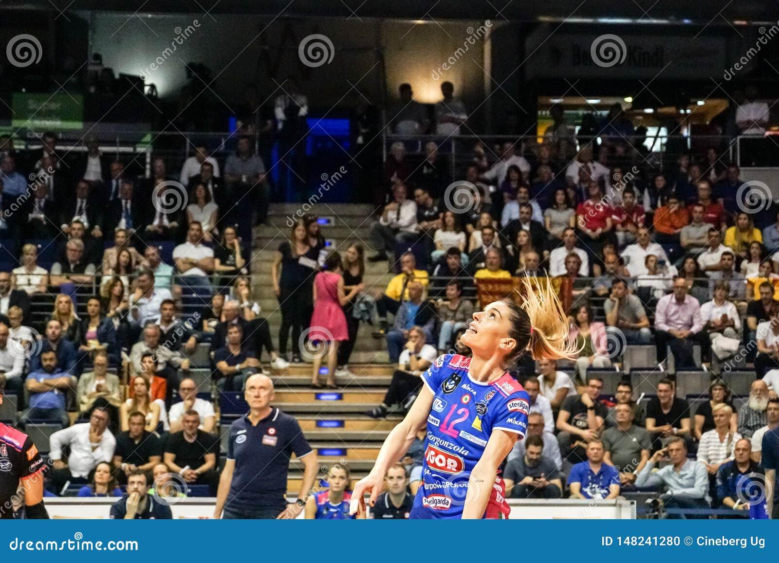 Jugador de voleibol Francesca Piccinini