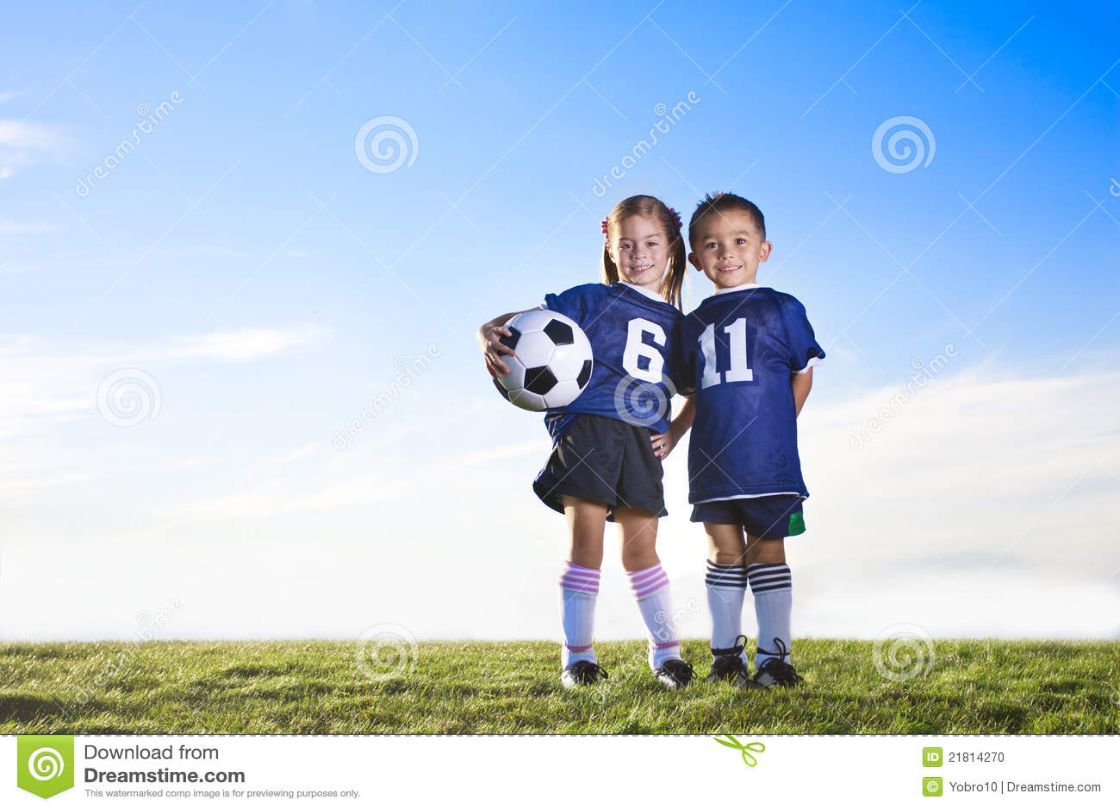 Jugadores de fútbol de la juventud