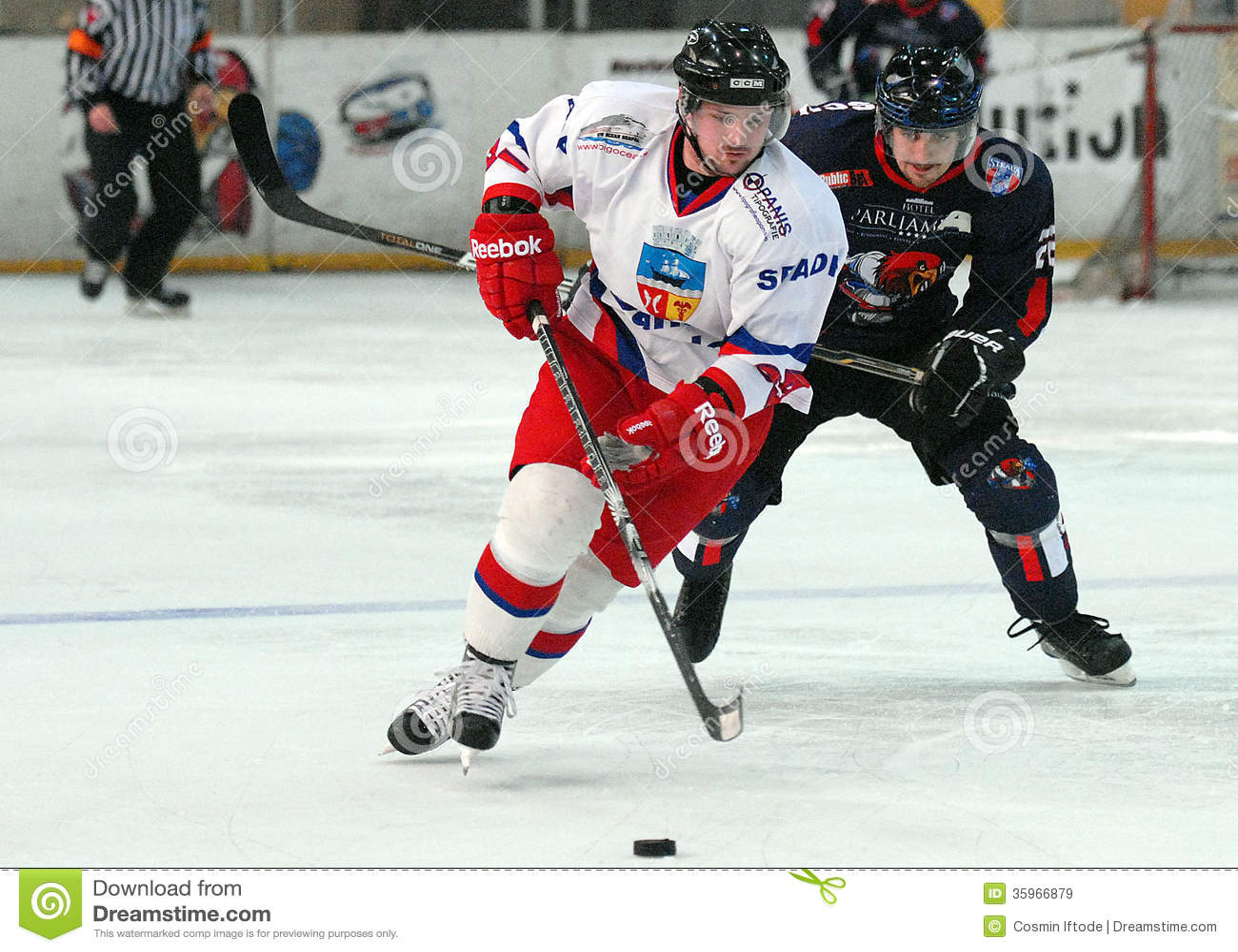 Jugadores del hockey sobre hielo