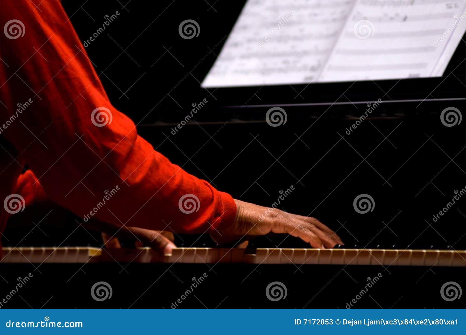 Jugar el piano