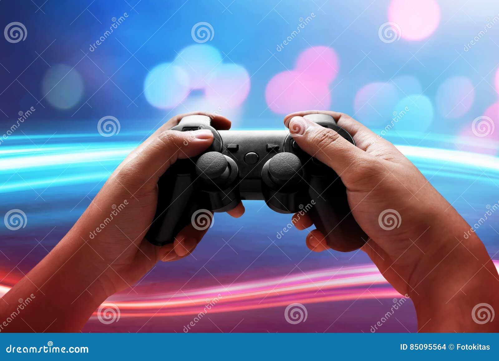 Jugar a los juegos video