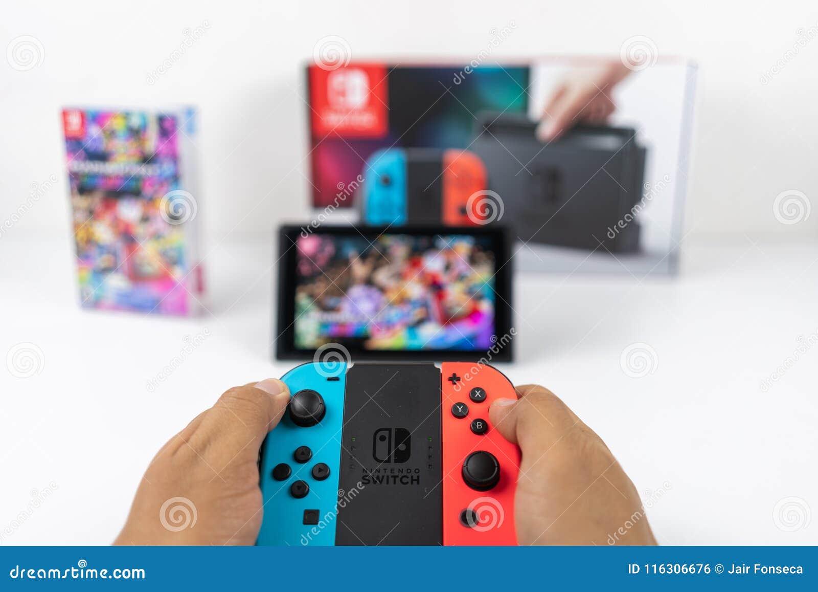 Jugar a Mario Kart Deluxe 8 en el interruptor de Nintendo