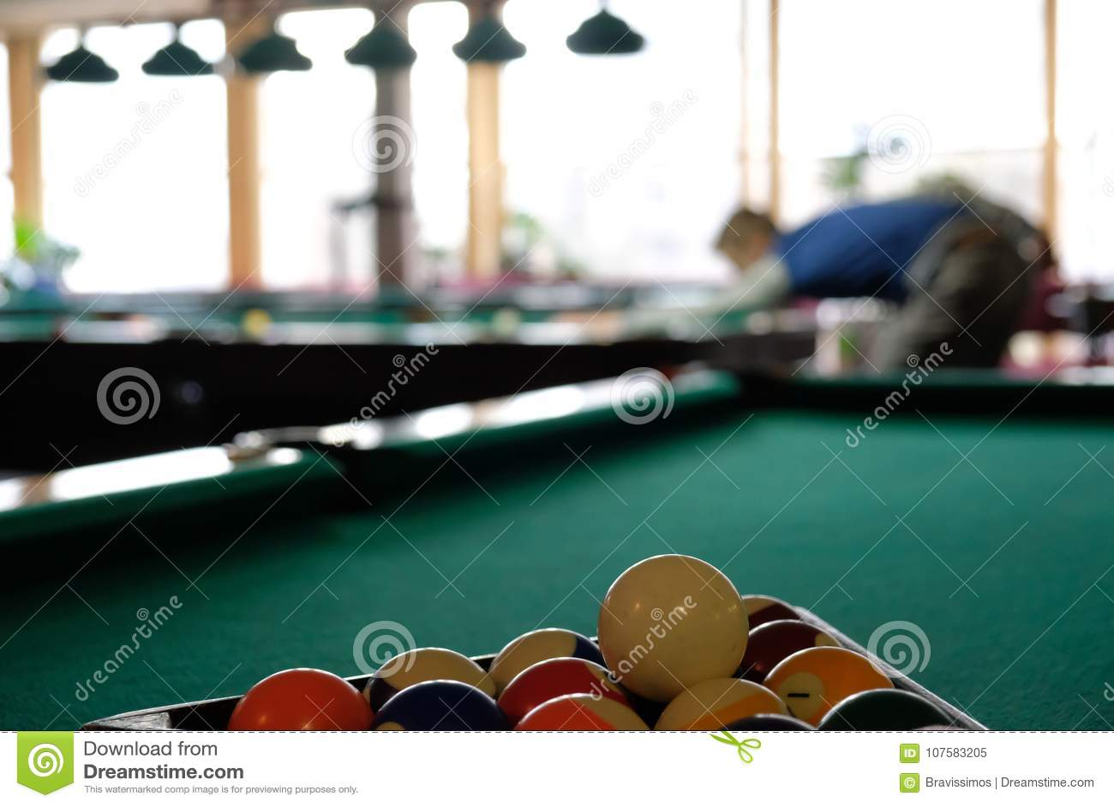 Poolbillard Spielen