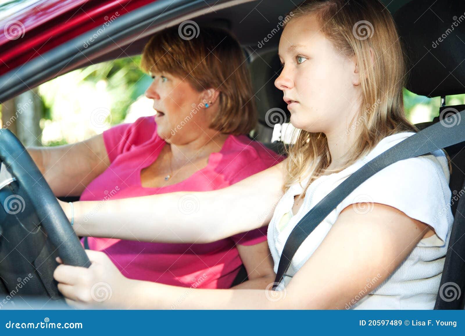 Jugendlich Treiber - Autounfall