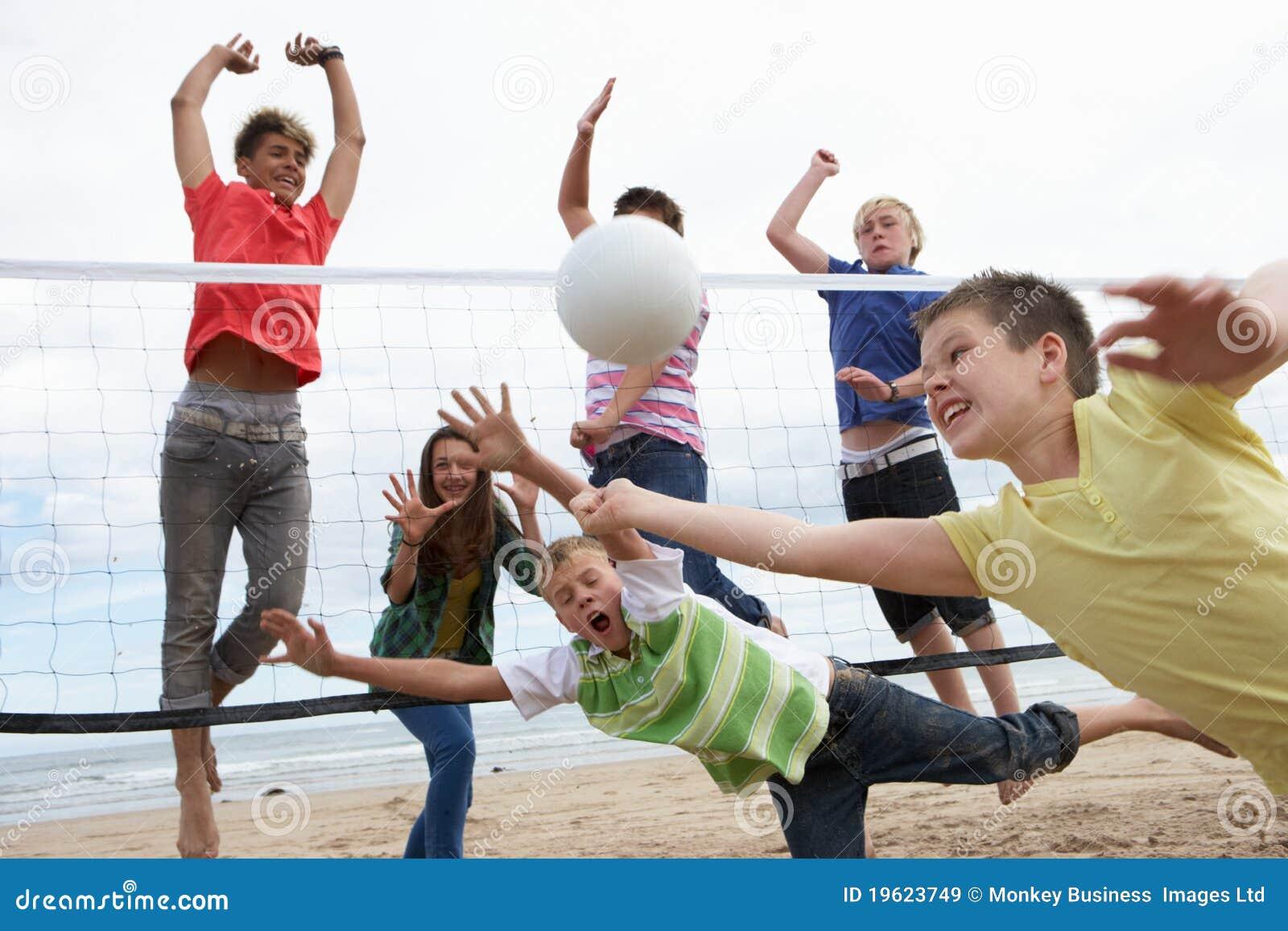 Volleyball Spielen