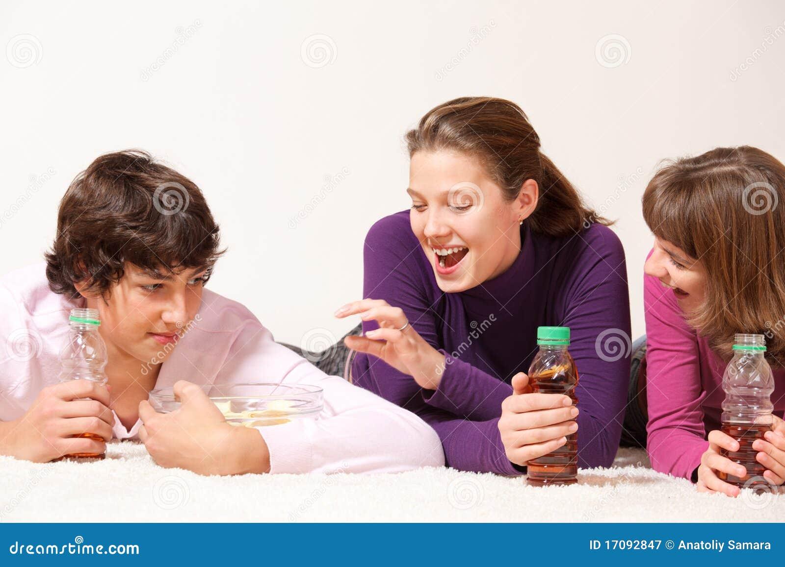 Jugendliche mit crips
