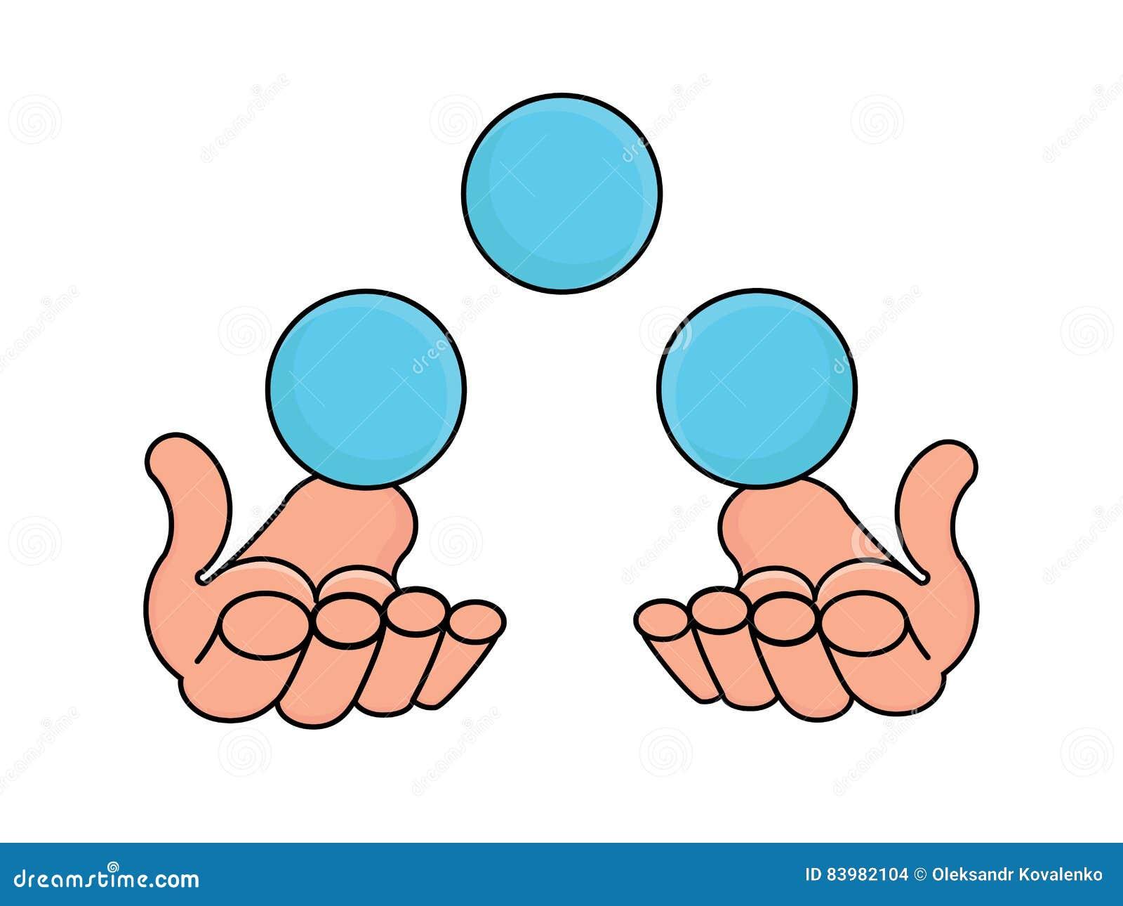 how to make blue balls