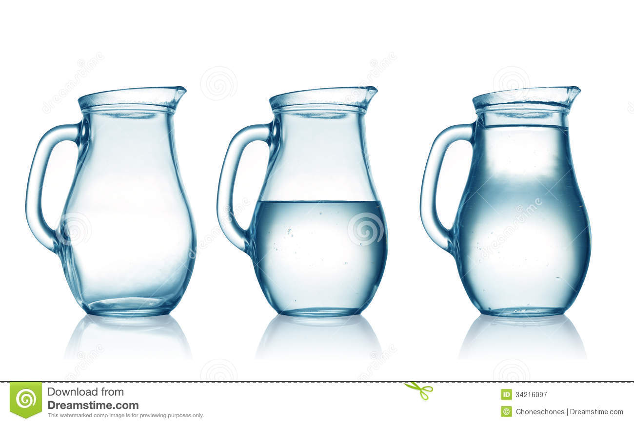 jugs stock image image of surface simple glassware