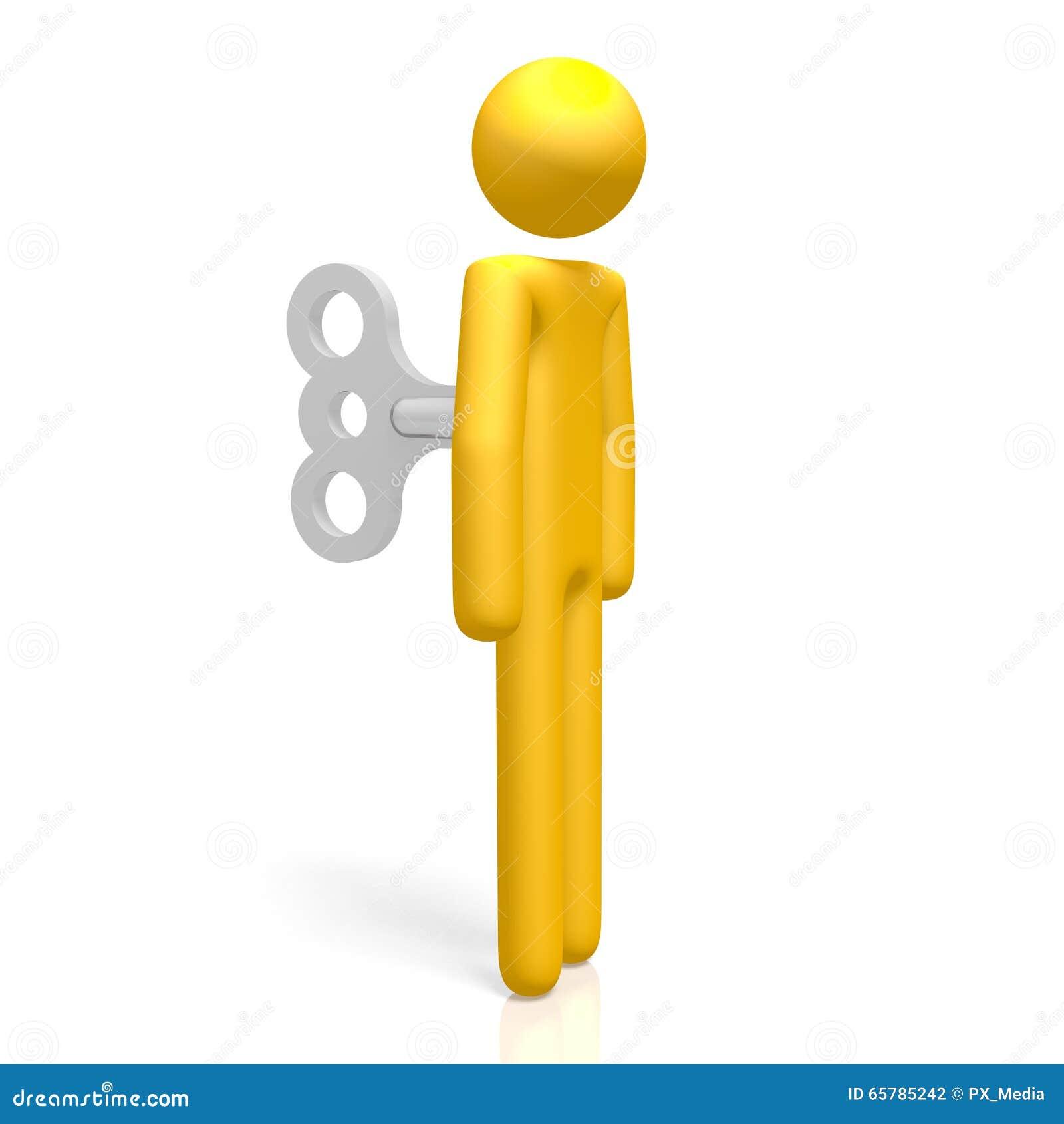 dacbf5df09ea Personaje de dibujos animados 3D - enrolle para arriba el juguete - grande  para los temas como obediencia, automático, el robot etc