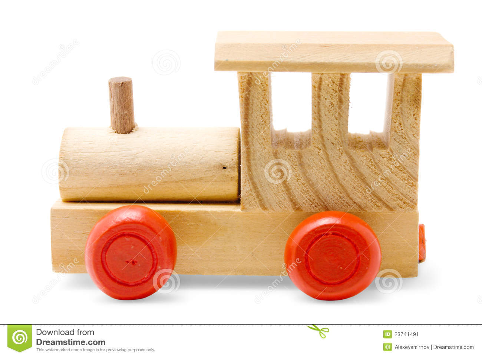 Juguete de madera del tren imagen de archivo imagen de - Jugueteros de madera ...