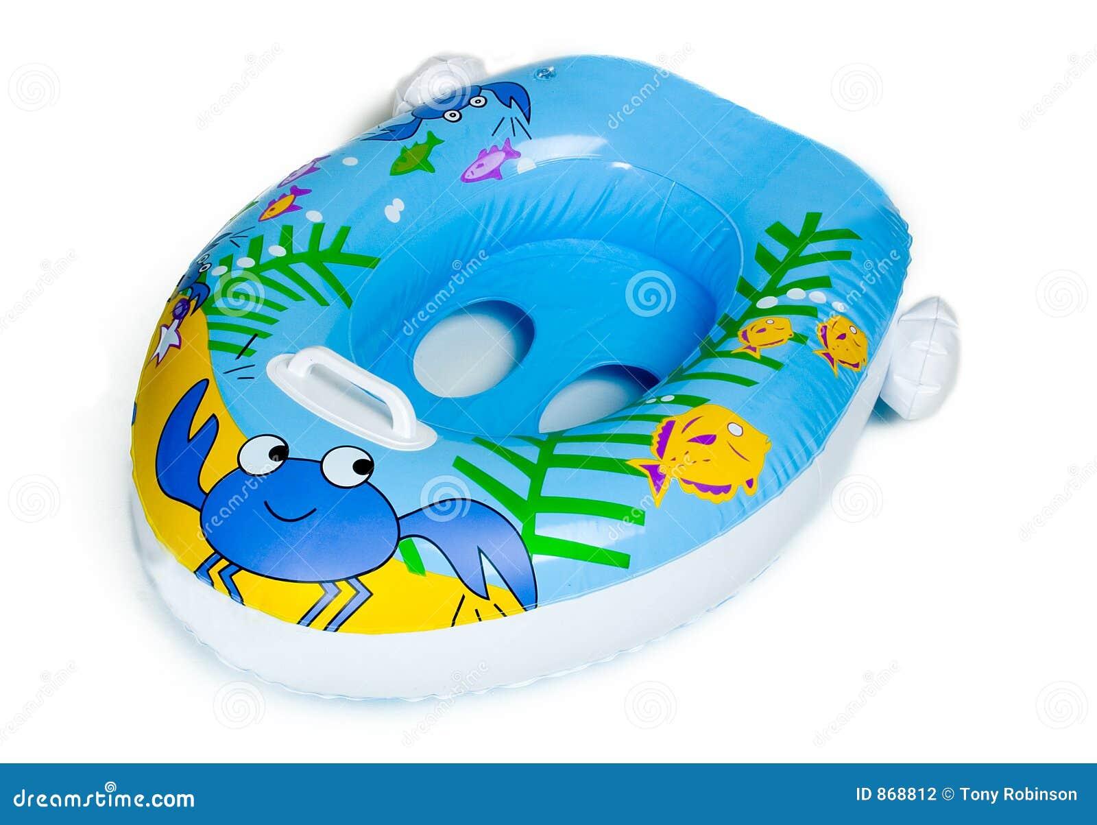 Juguete inflable de la piscina del barco del bebé