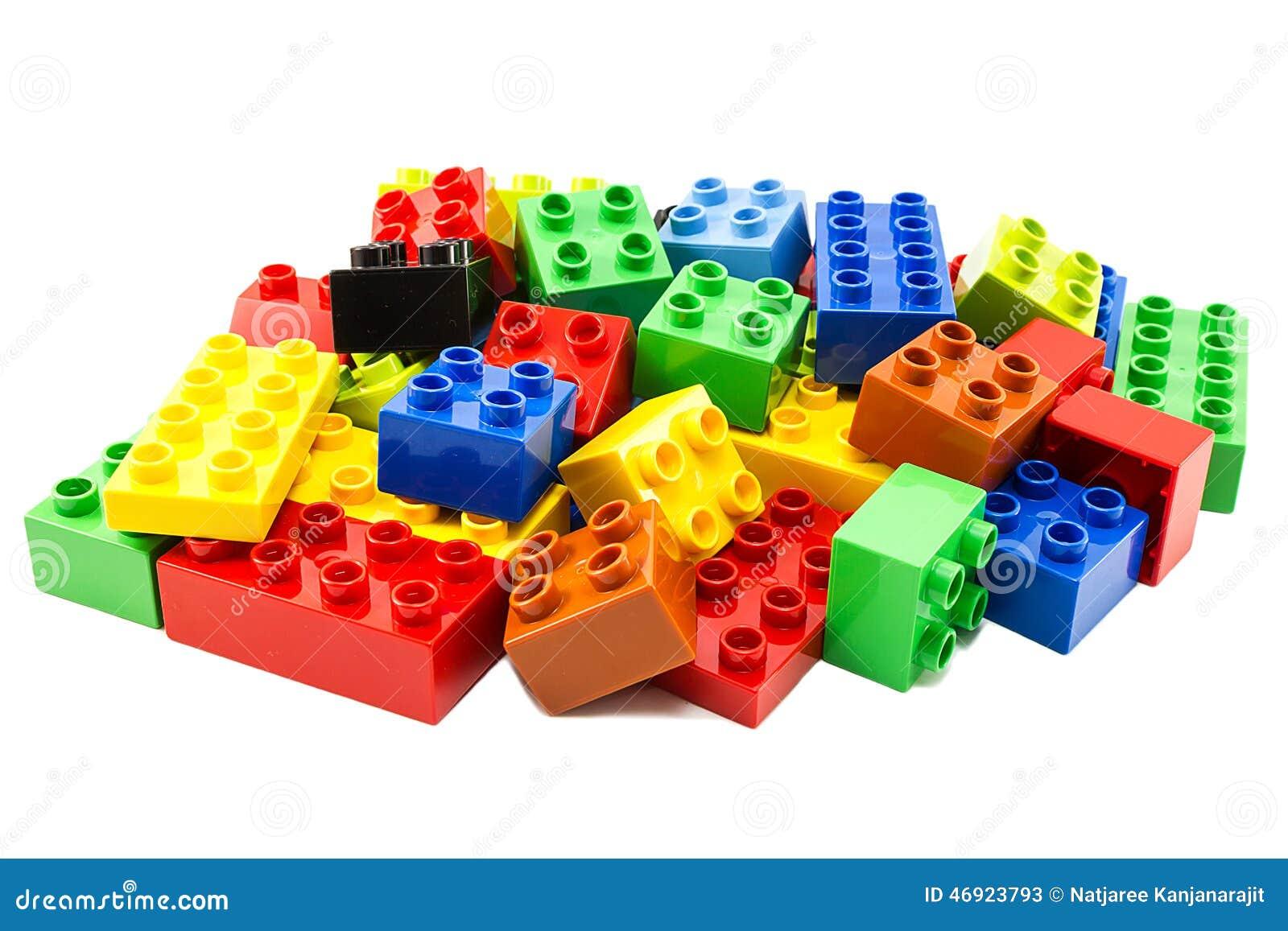 Juguete que construye bloques coloridos