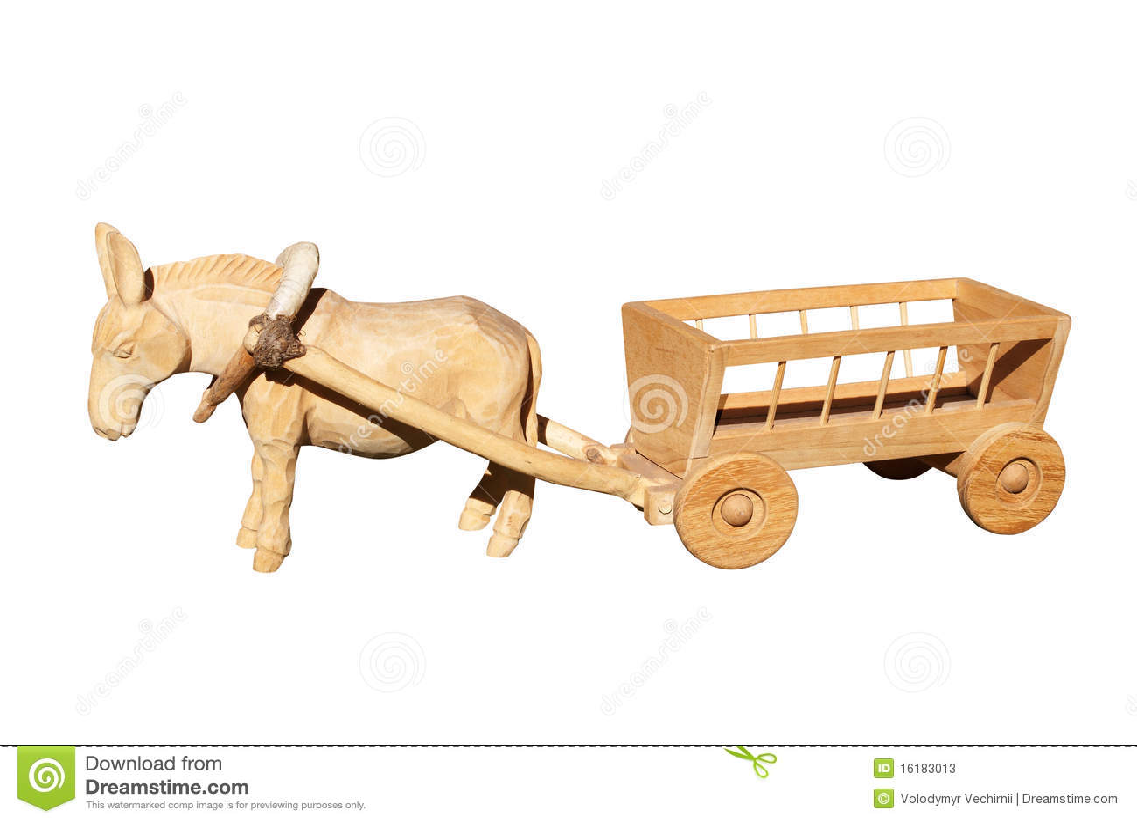 Juguetes de madera viejos