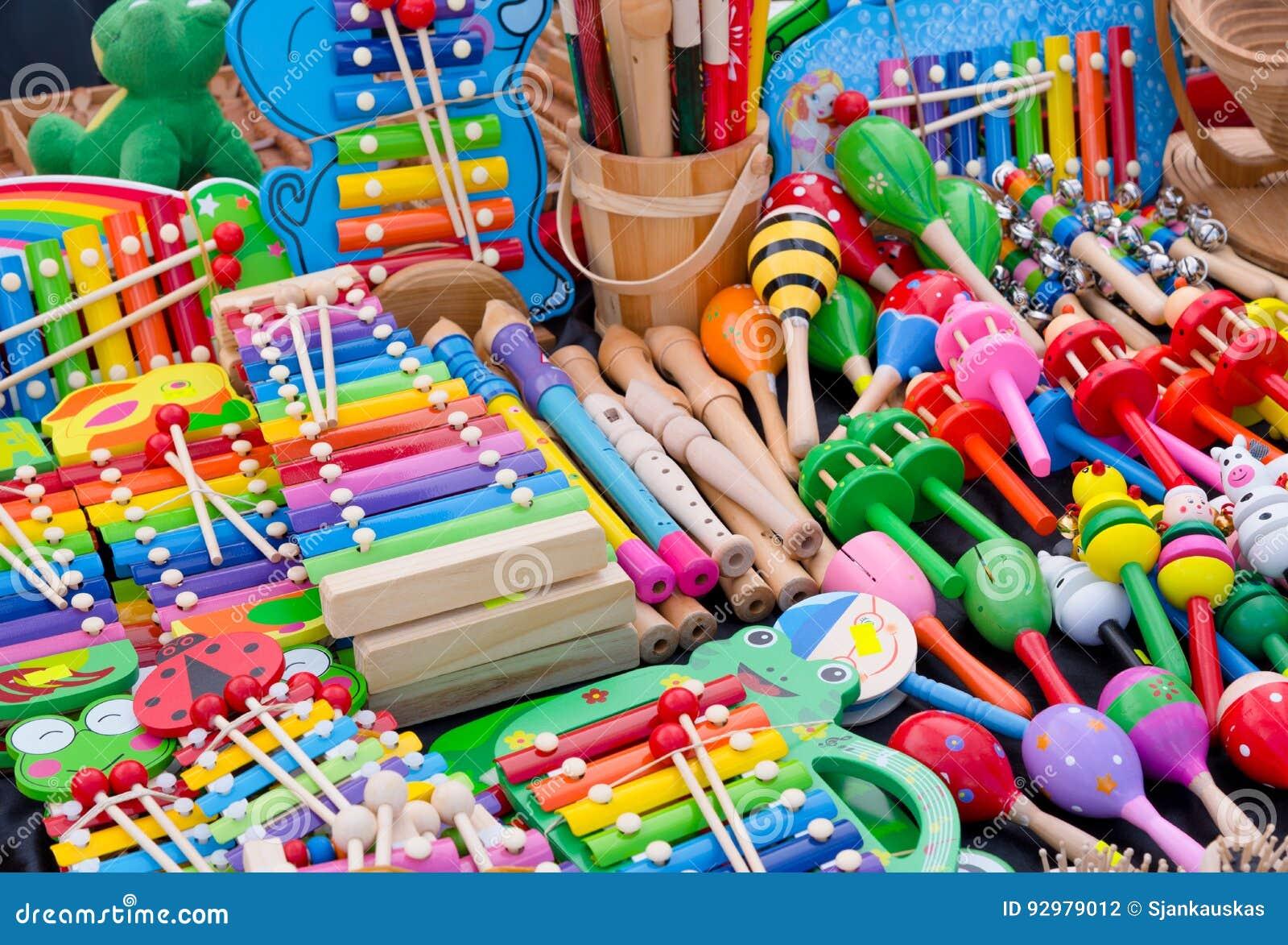 Juguetes e instrumentos musicales, tienda de los niños