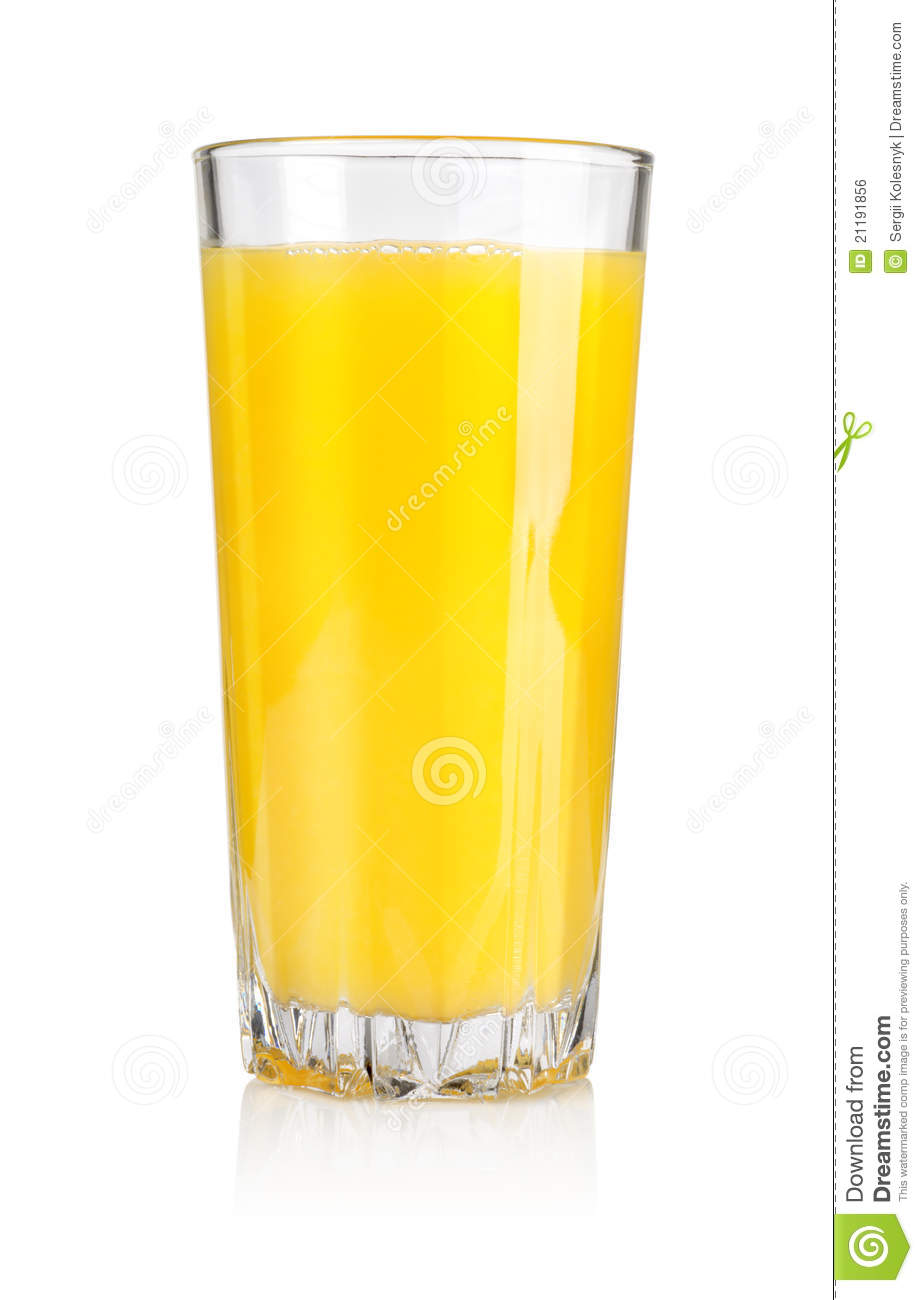 Juice in glass
