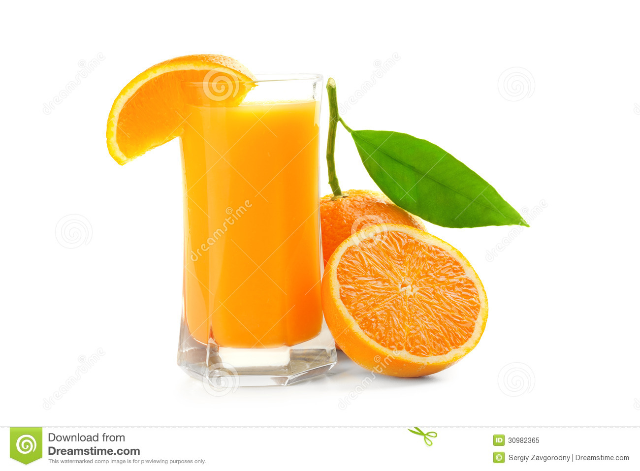 Juice Glass And Orange Fruit Royalty Free Stock Photo ...