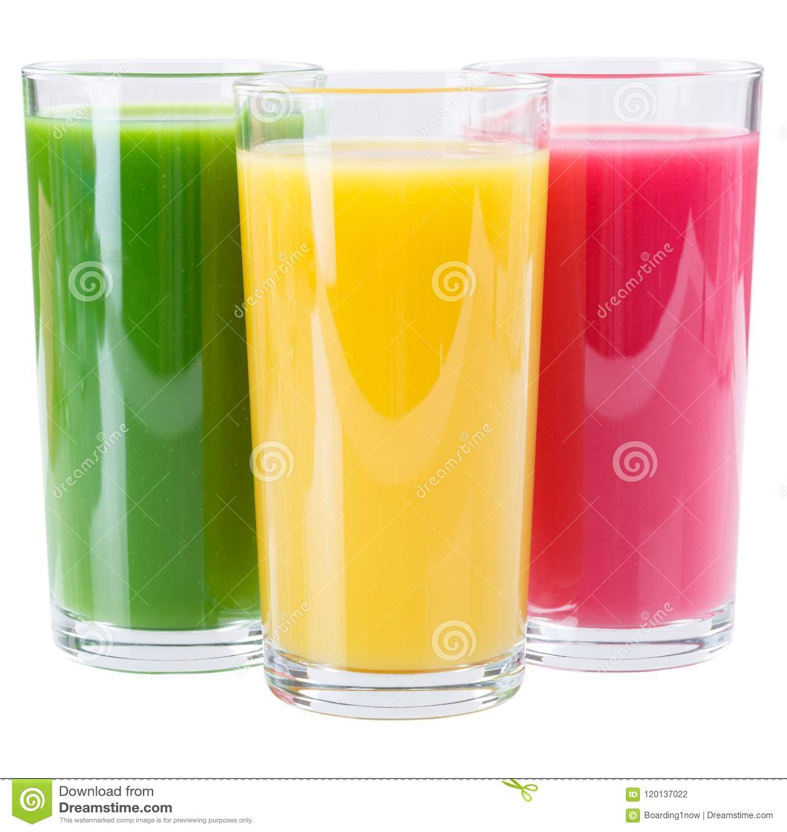 Juice smoothie smoothies isolated on white